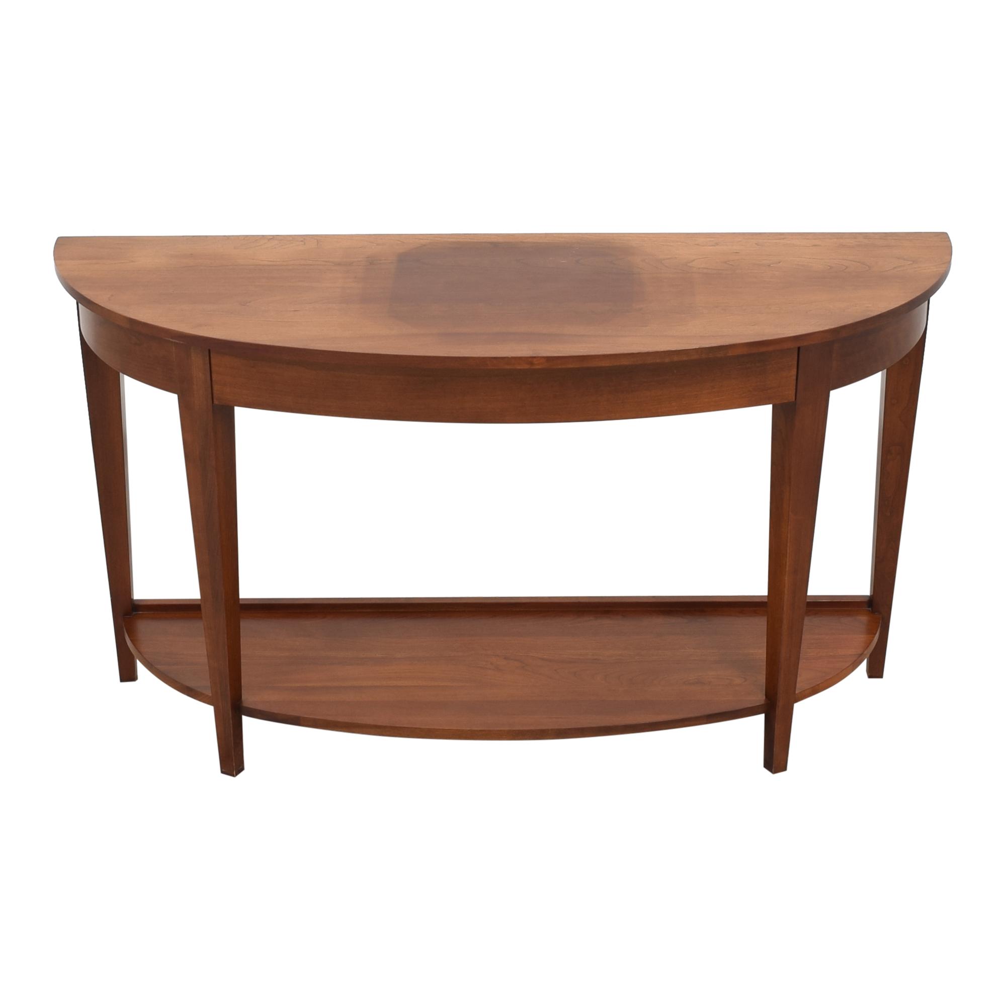 buy Ethan Allen Ethan Allen American Impressions Demilune Sofa Table online
