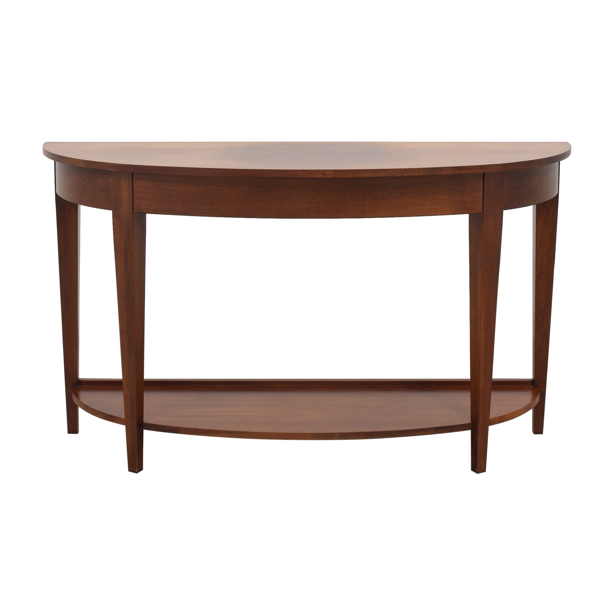 Ethan Allen Ethan Allen American Impressions Demilune Sofa Table dimensions