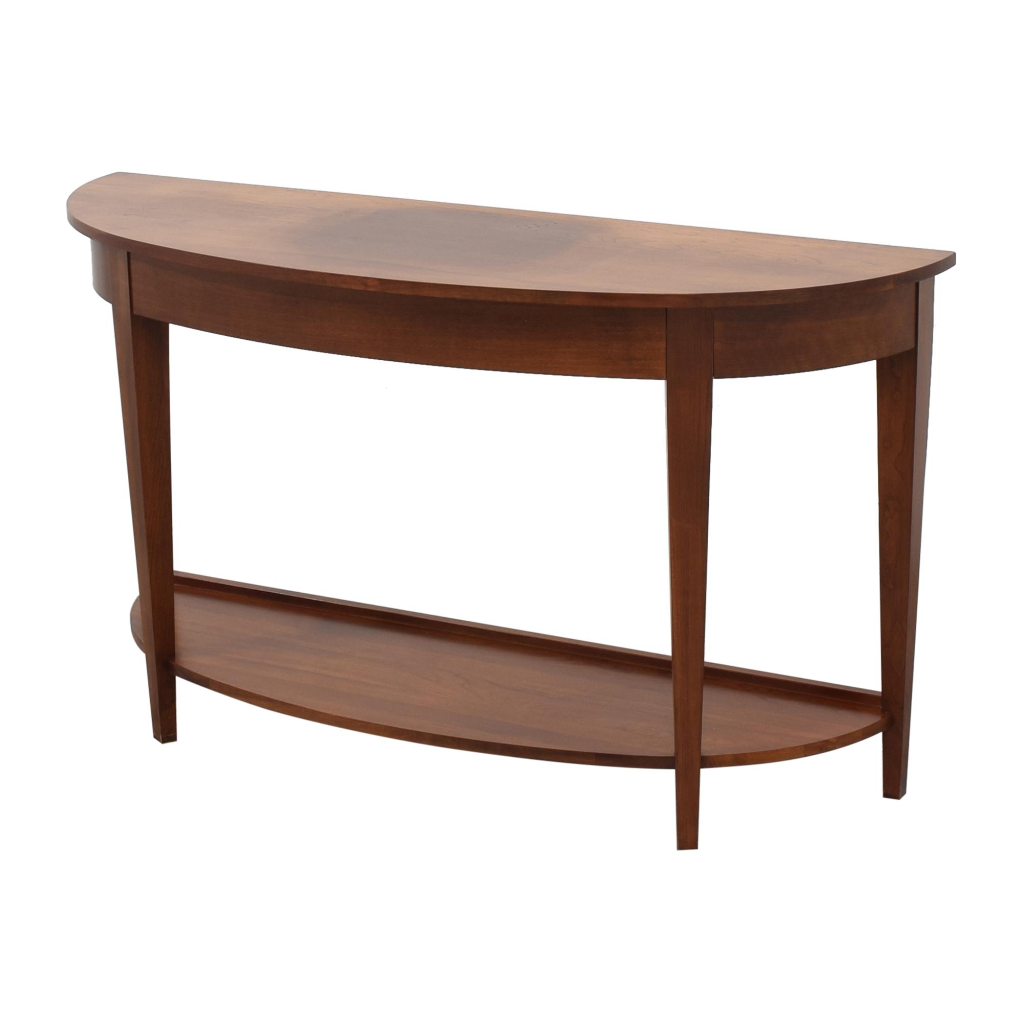 Ethan Allen Ethan Allen American Impressions Demilune Sofa Table nj