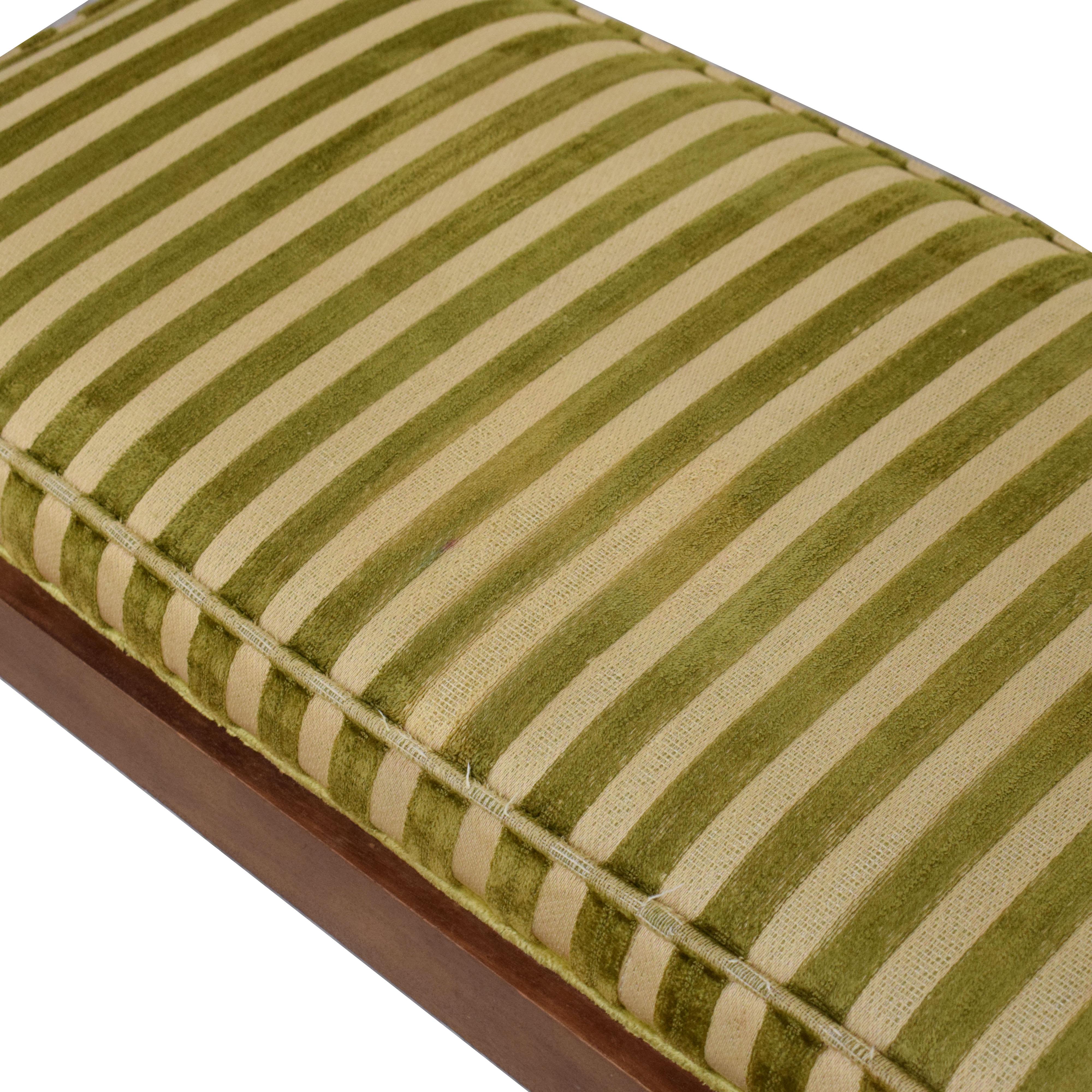 Drexel Vintage Drexel Cushioned Bench ma