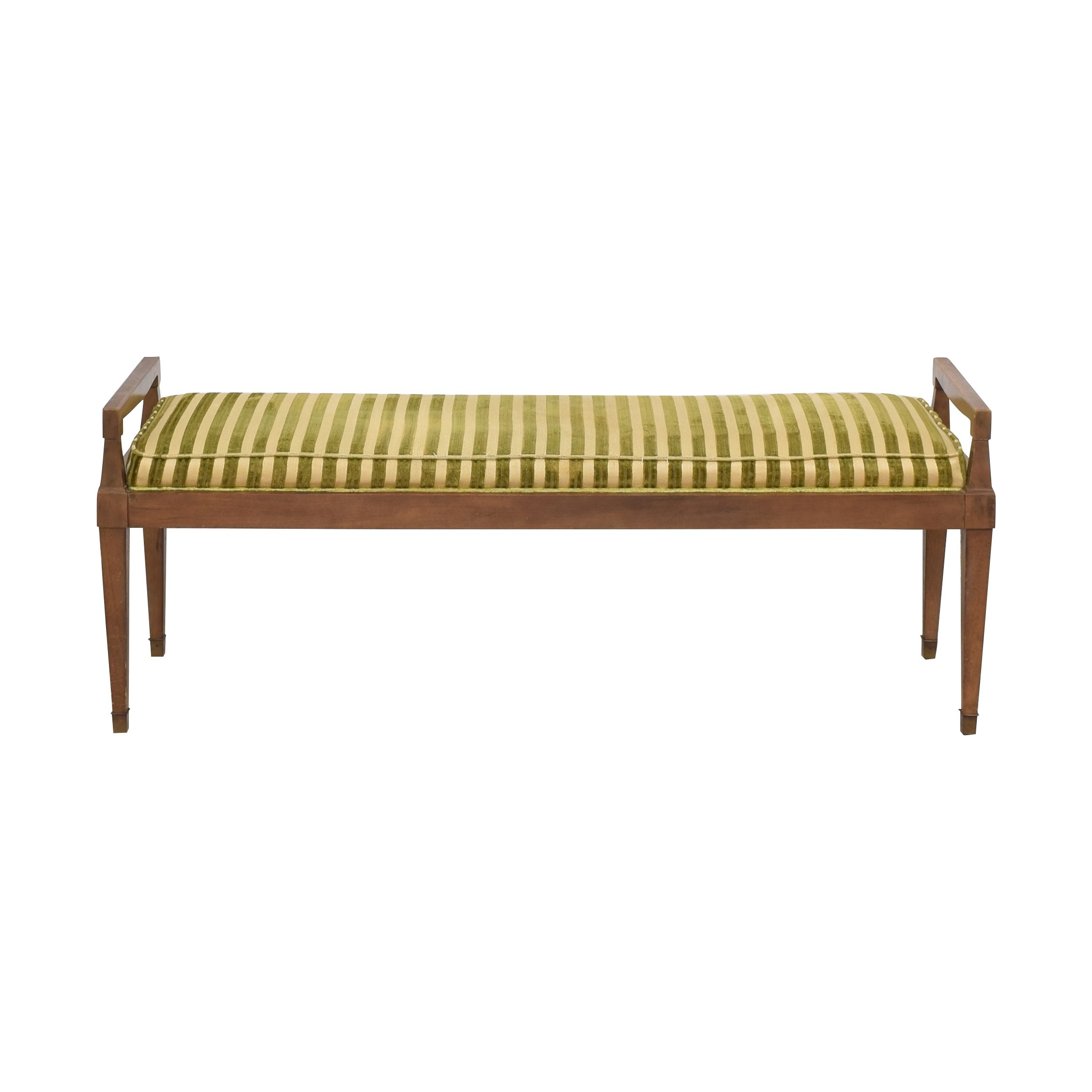 Drexel Vintage Drexel Cushioned Bench second hand