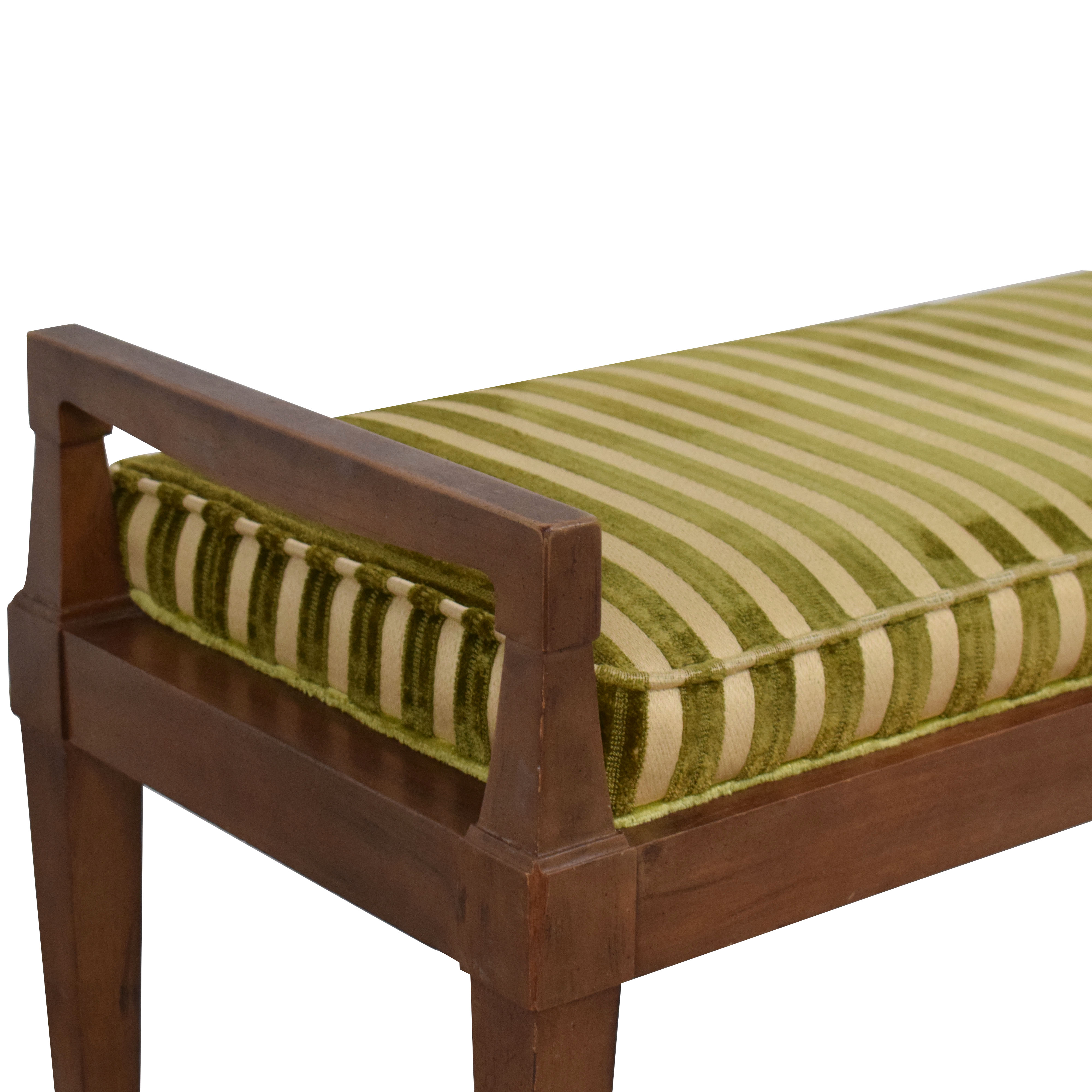 Drexel Vintage Drexel Cushioned Bench nyc