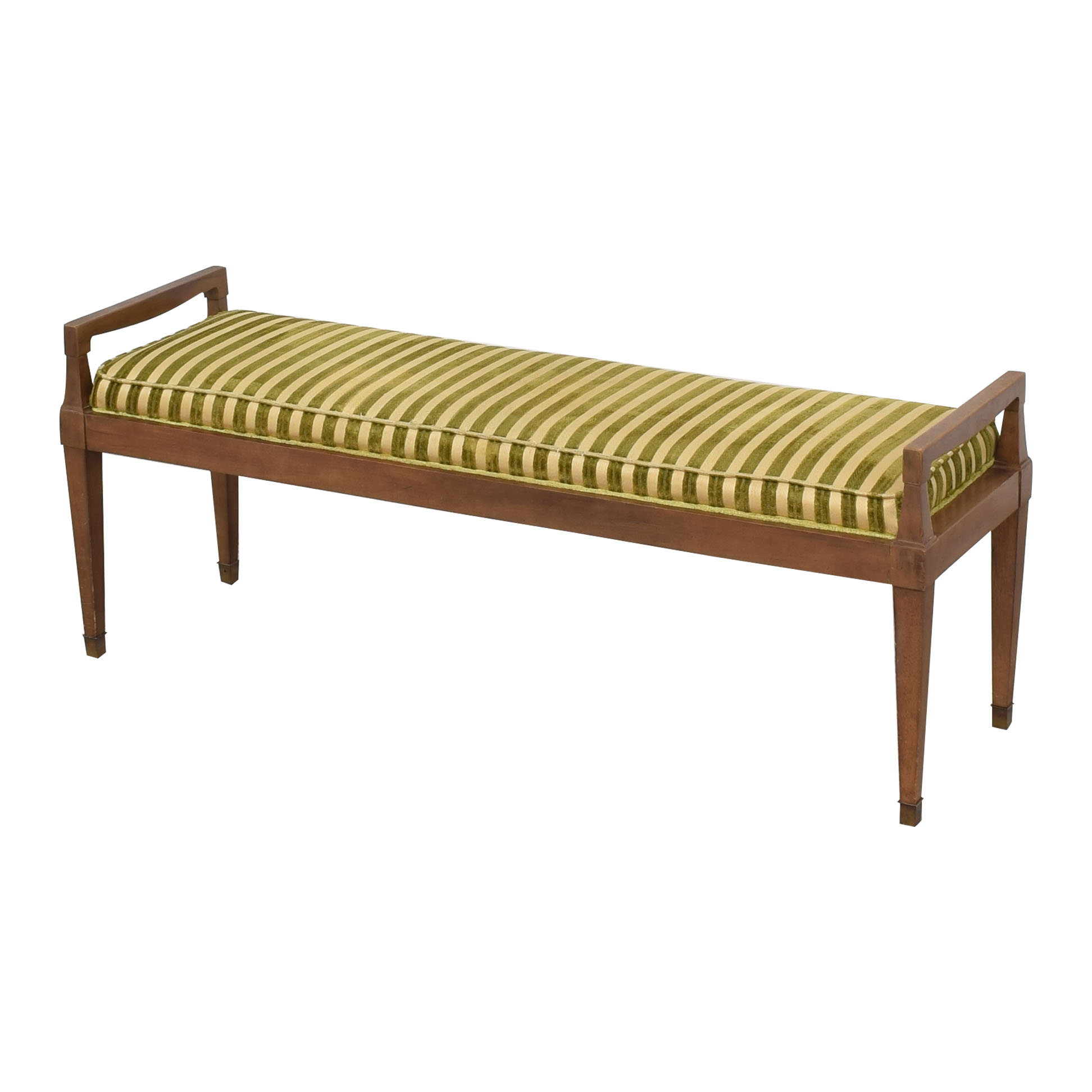 Drexel Vintage Drexel Cushioned Bench dimensions