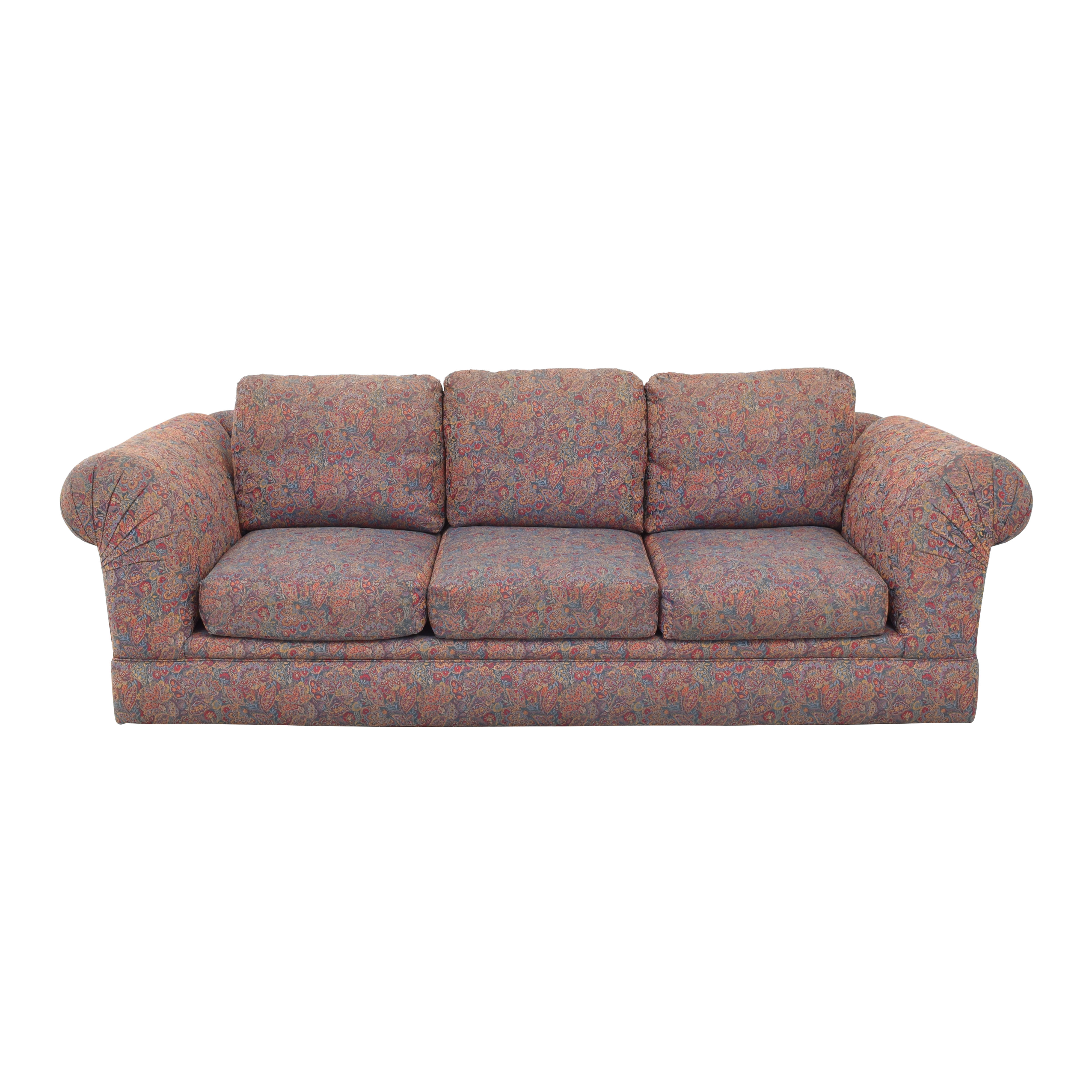 Paisley  Three Cushion Sofa