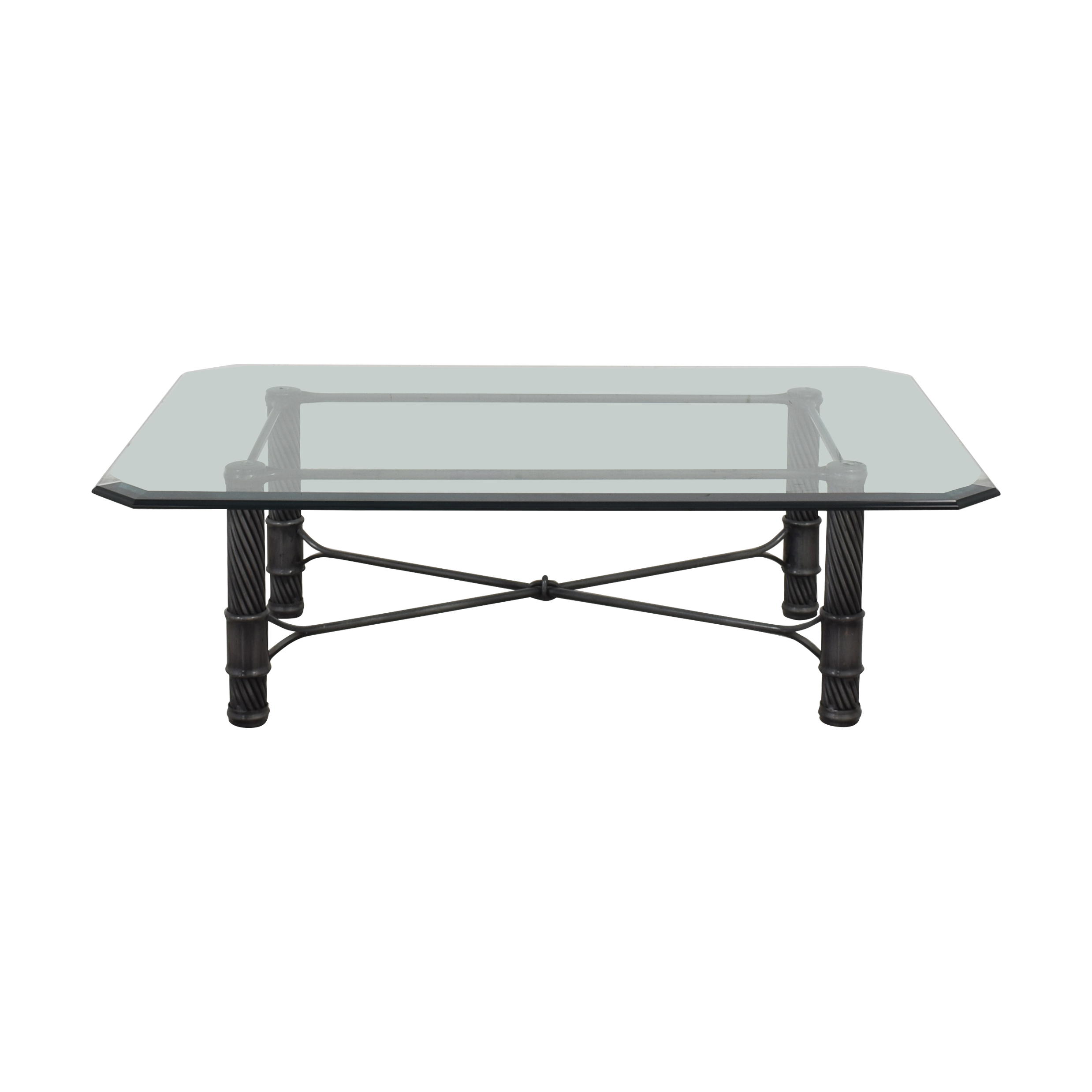 buy  Vintage Glass Coffee Table online