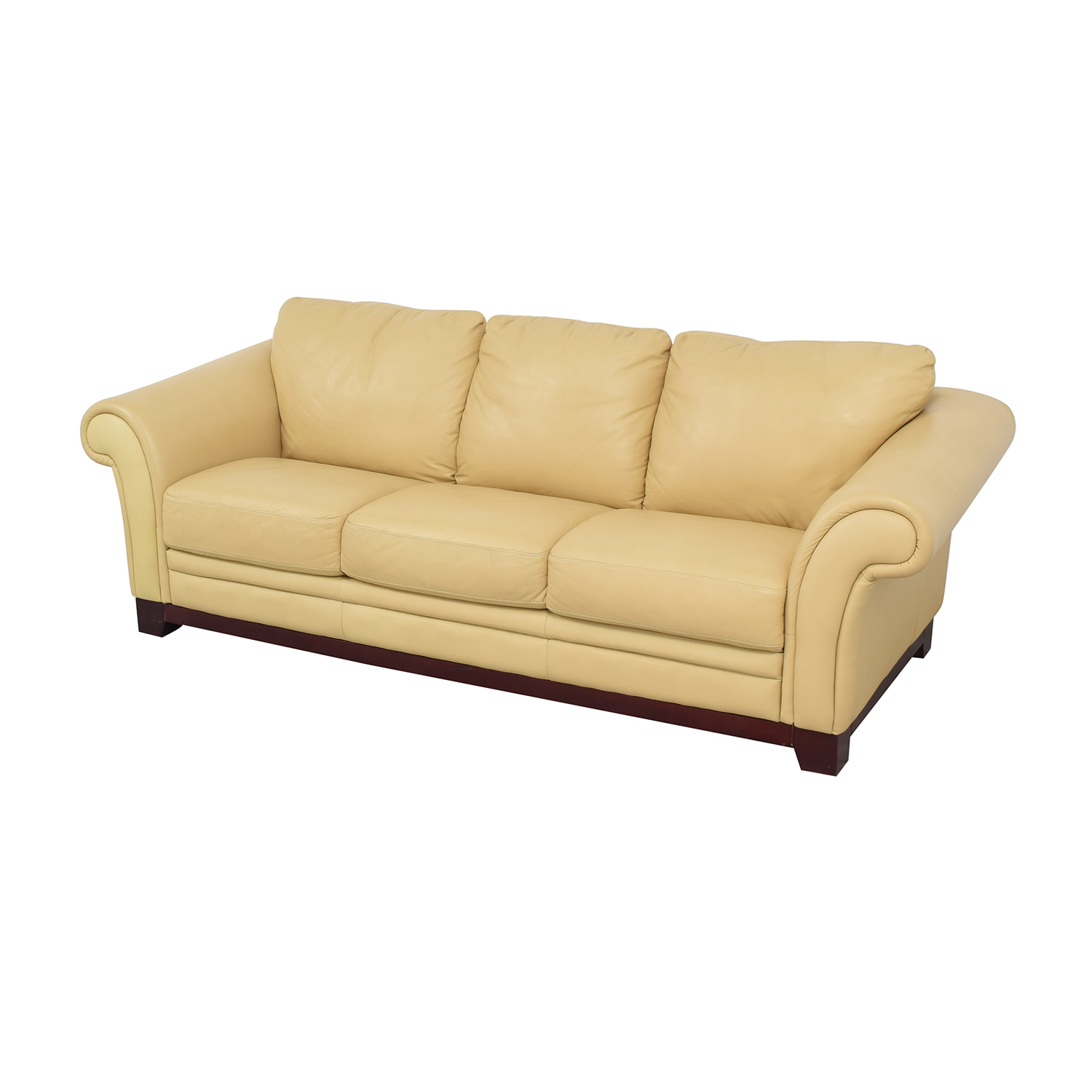 Castro Convertibles Roll Arm Sofa
