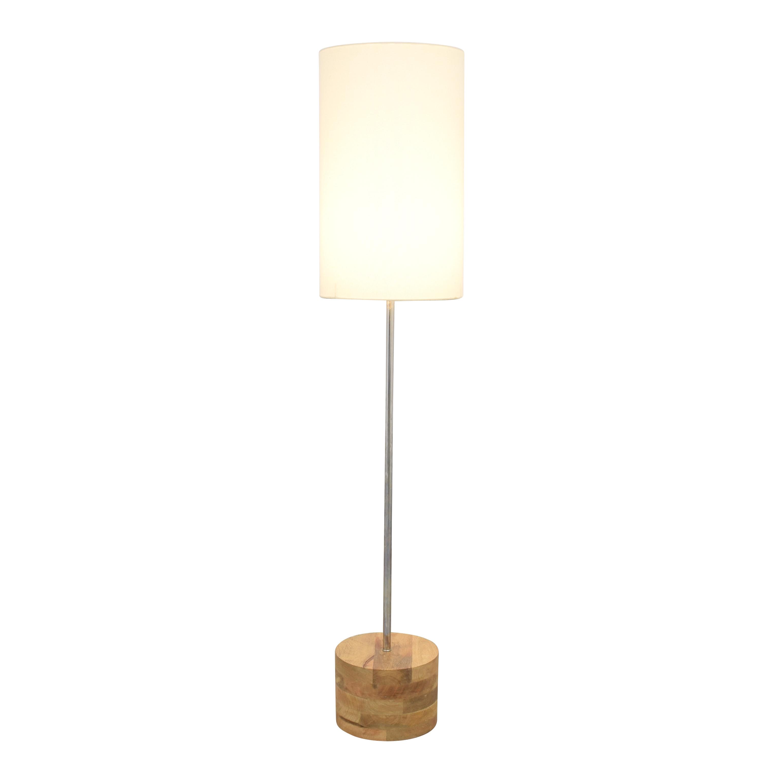 buy Crate & Barrel Tribeca Floor Lamp Crate & Barrel Decor