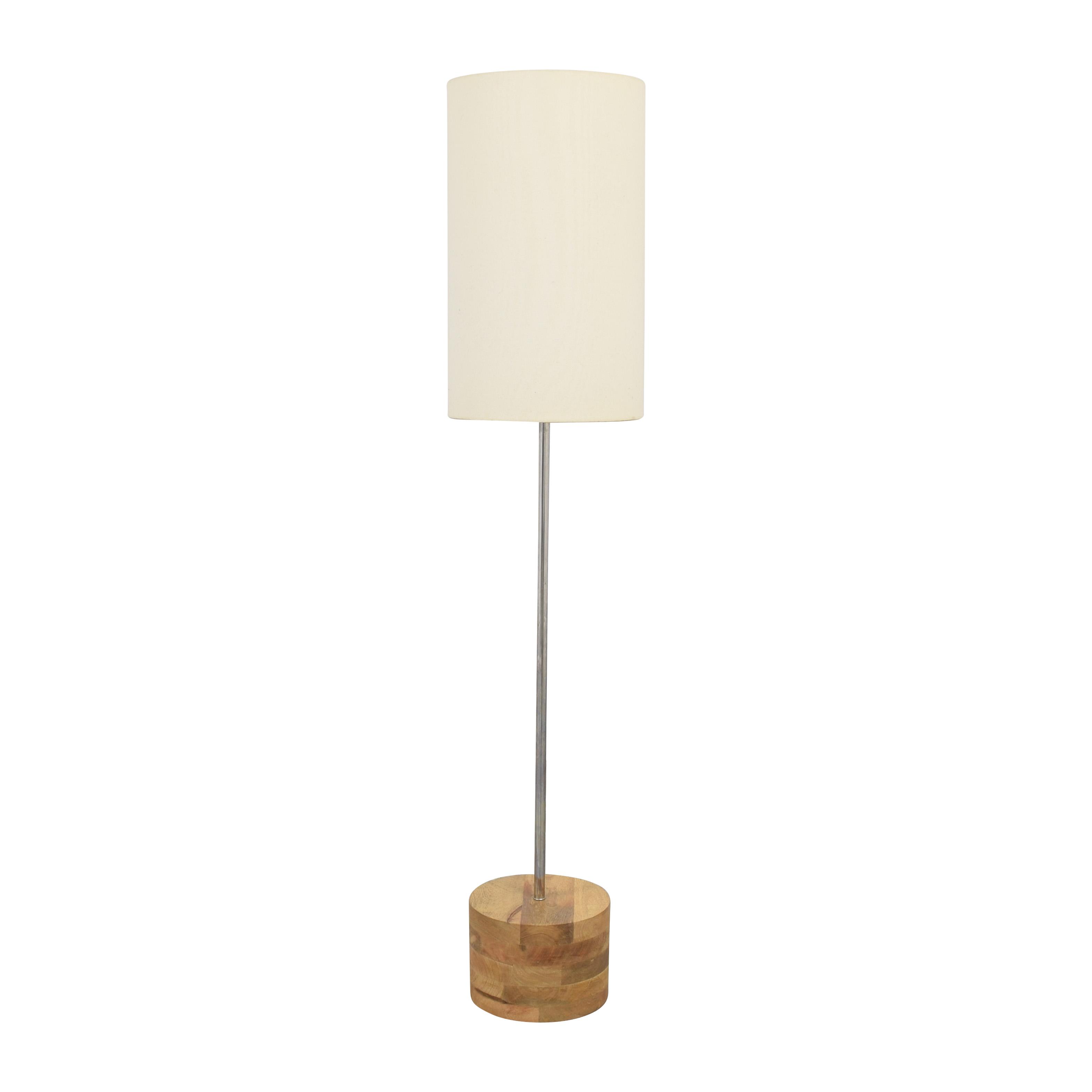 shop Crate & Barrel Tribeca Floor Lamp Crate & Barrel Lamps