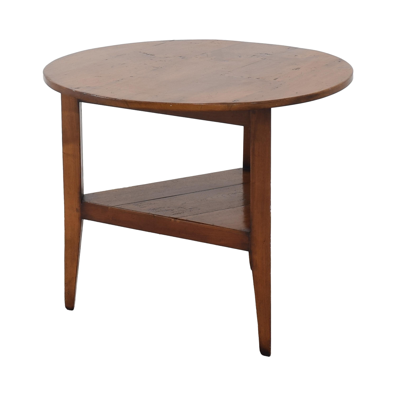Ethan Allen Ethan Allen Side Table brown