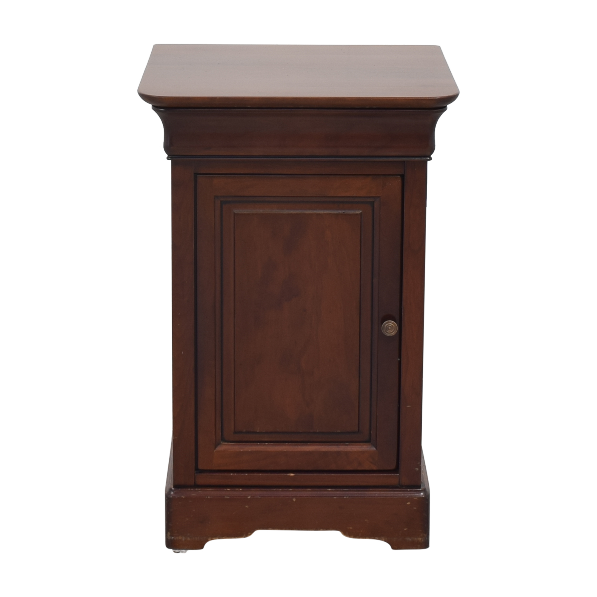 Grange Louis Philippe Style Cherry Nightstand / End Tables