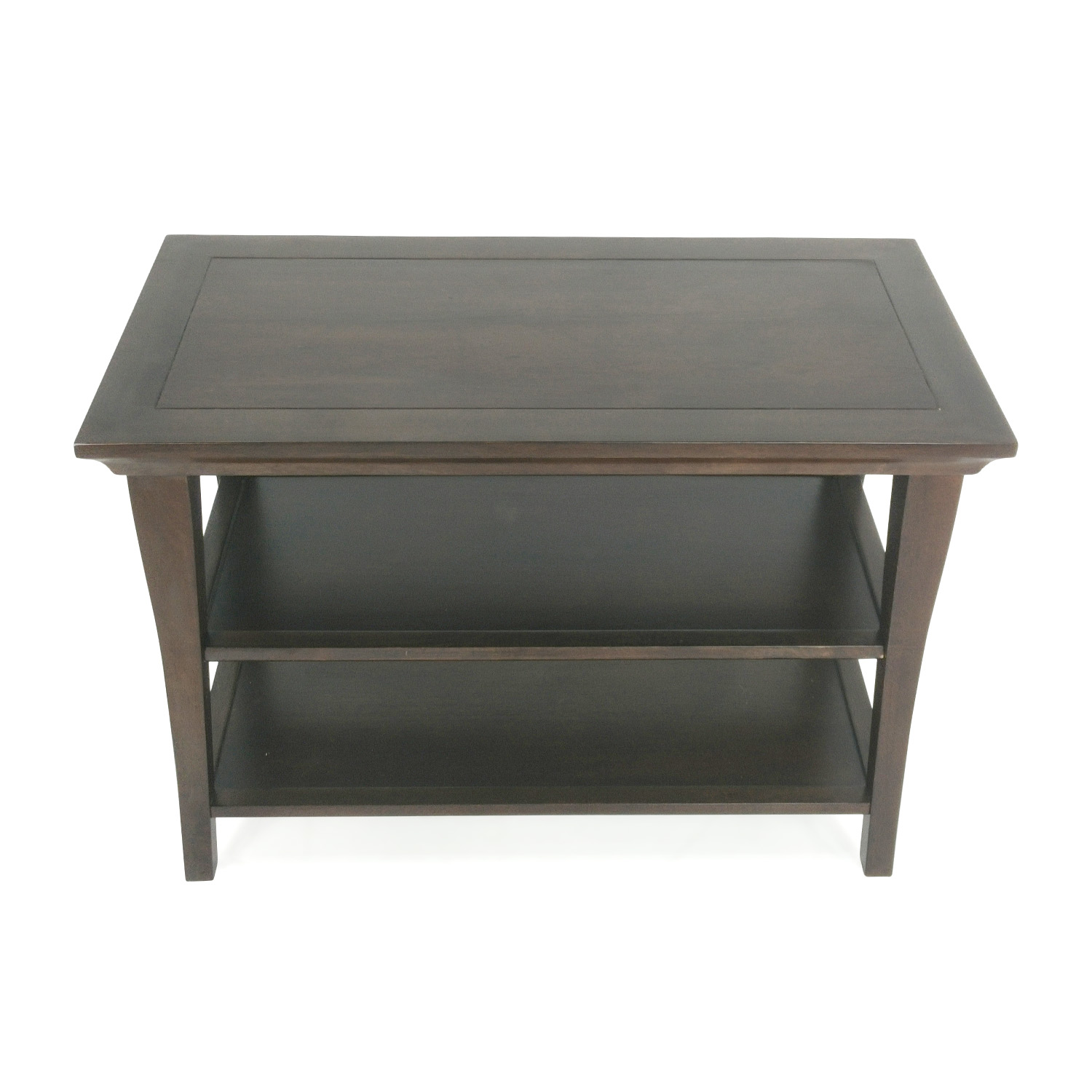 Pottery Barn Pottery Barn Table with Shelves