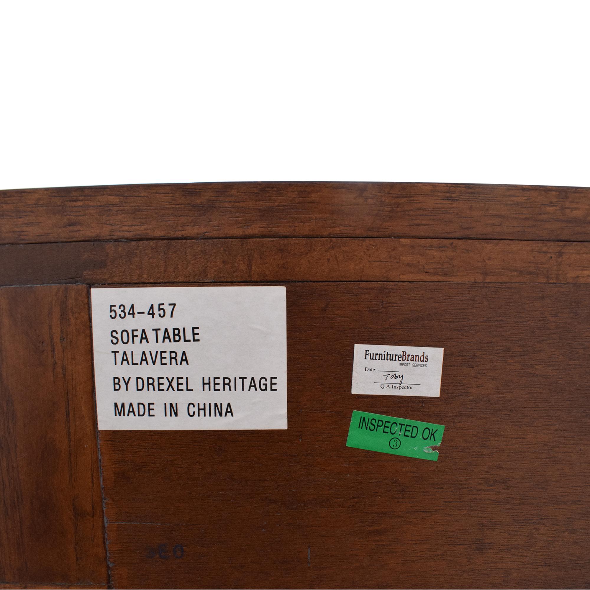 shop Drexel Heritage Console Table Drexel Heritage Accent Tables
