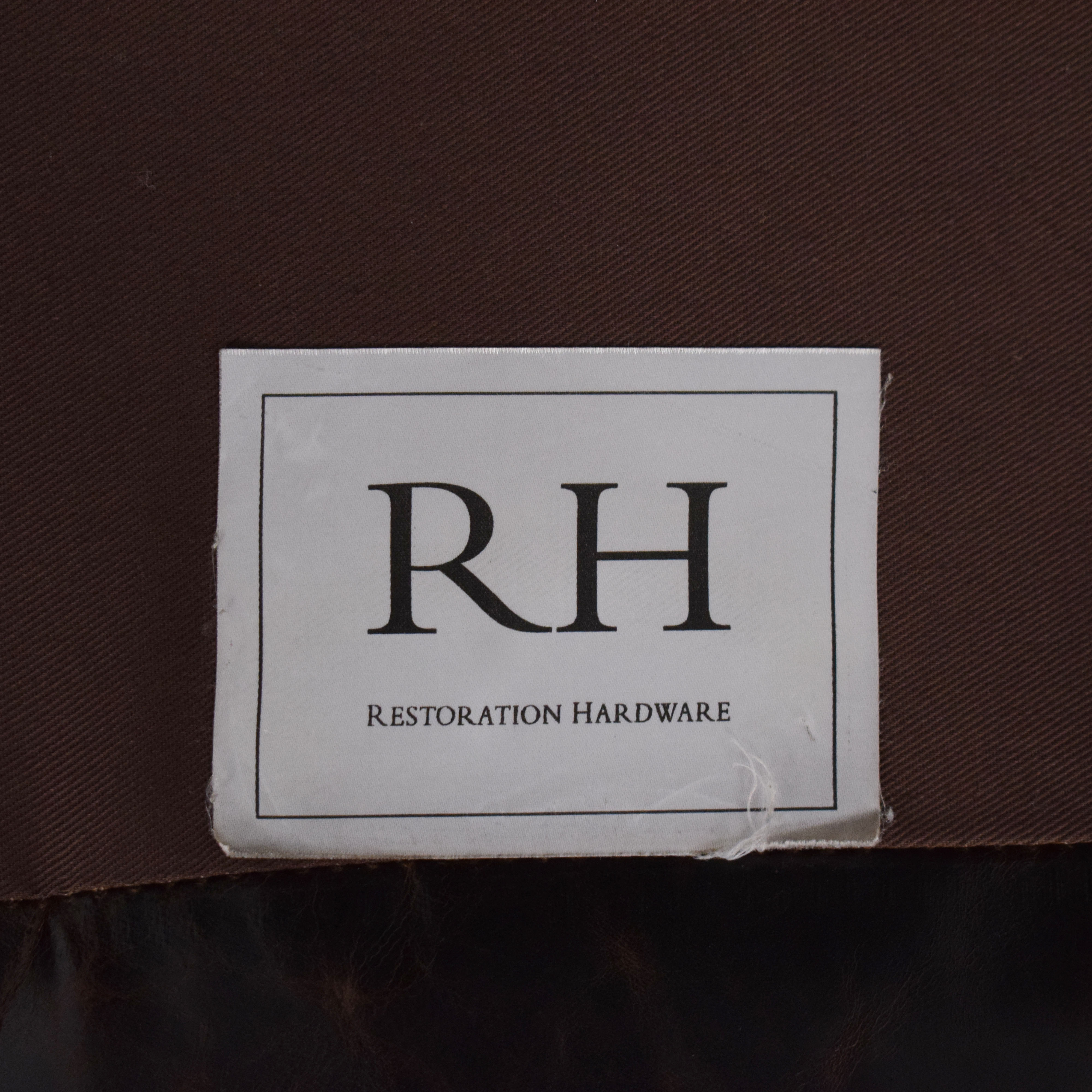 Restoration Hardware Restoration Hardware Original Lancaster Leather Sofa