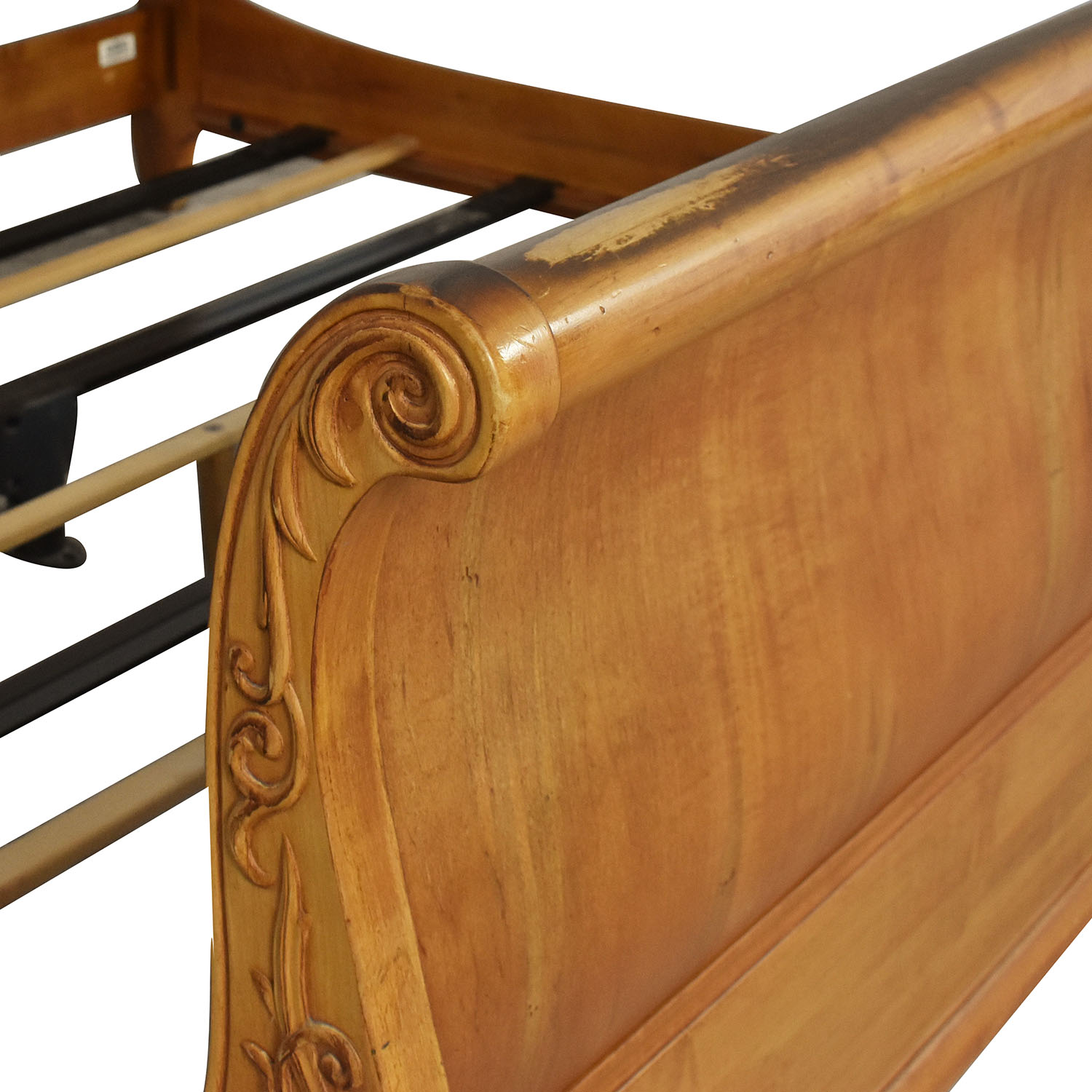 Ethan Allen Legacy King Sleigh Bed / Beds