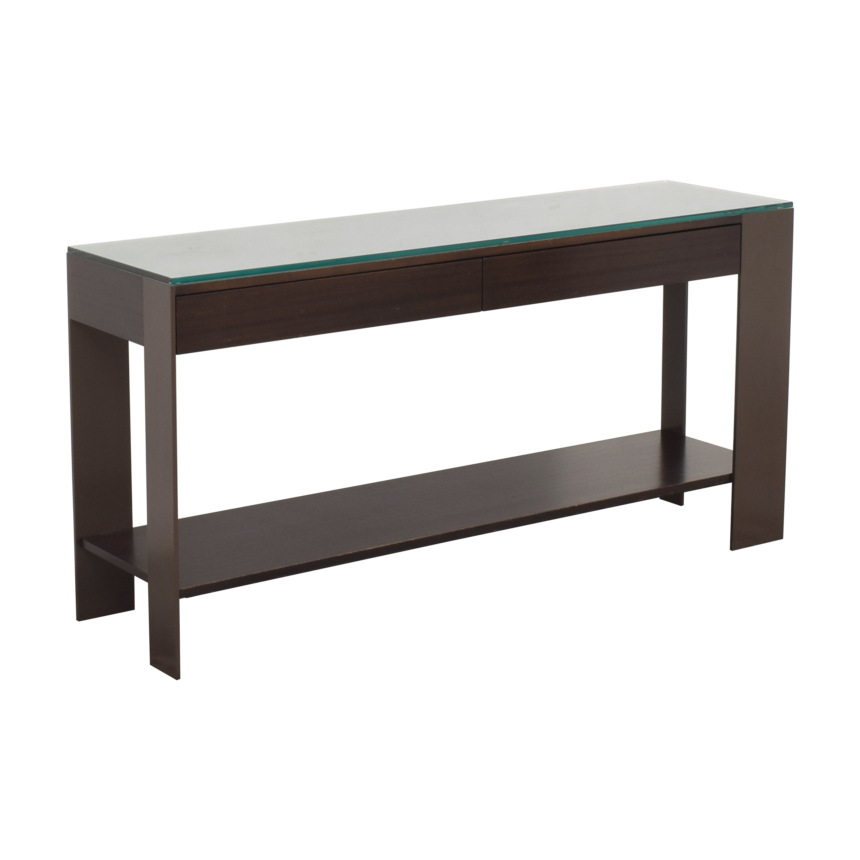 Antoine Proulx Antoine Proulx Console with Shelf Accent Tables