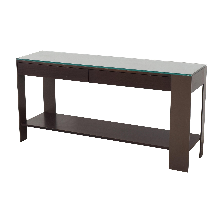 shop Antoine Proulx Console with Shelf Antoine Proulx Accent Tables