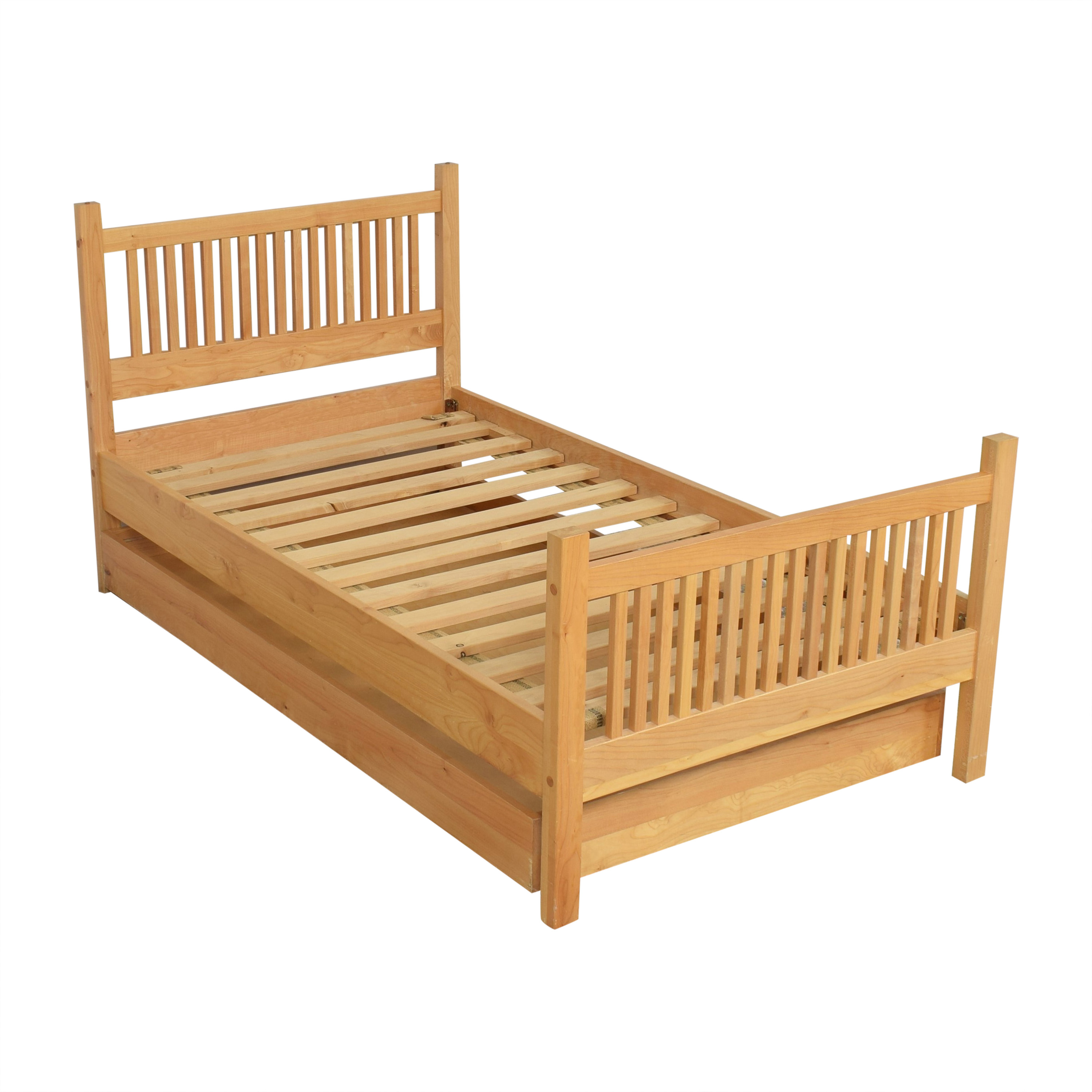 Room & Board Room & Board Riley Twin Bed with Trundle pa