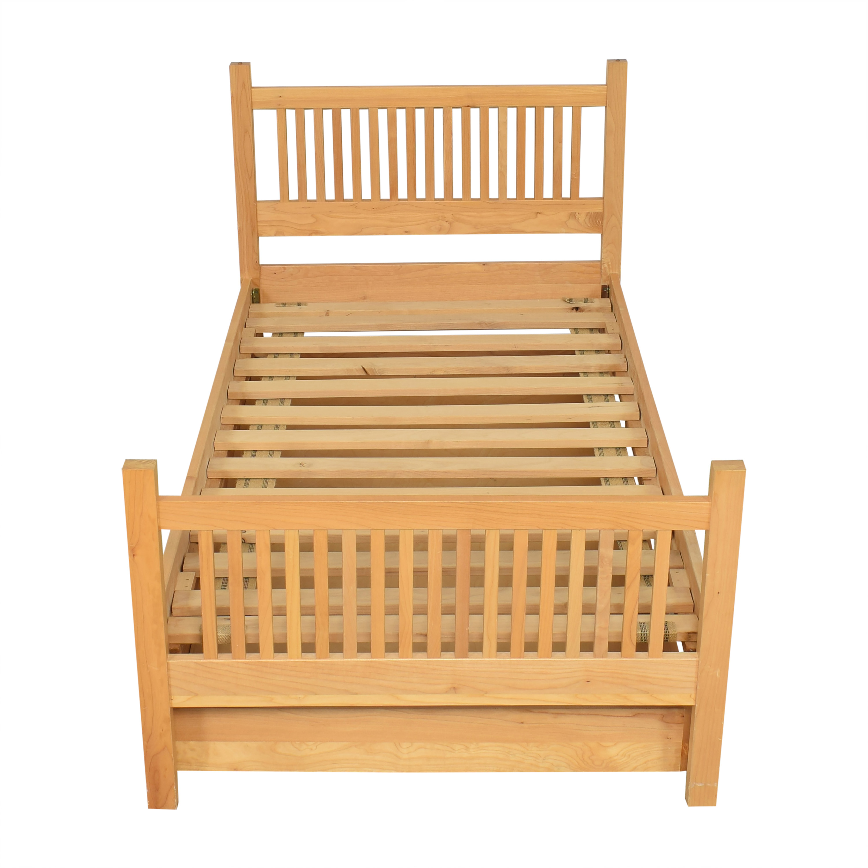 shop Room & Board Riley Twin Bed with Trundle Room & Board Bed Frames