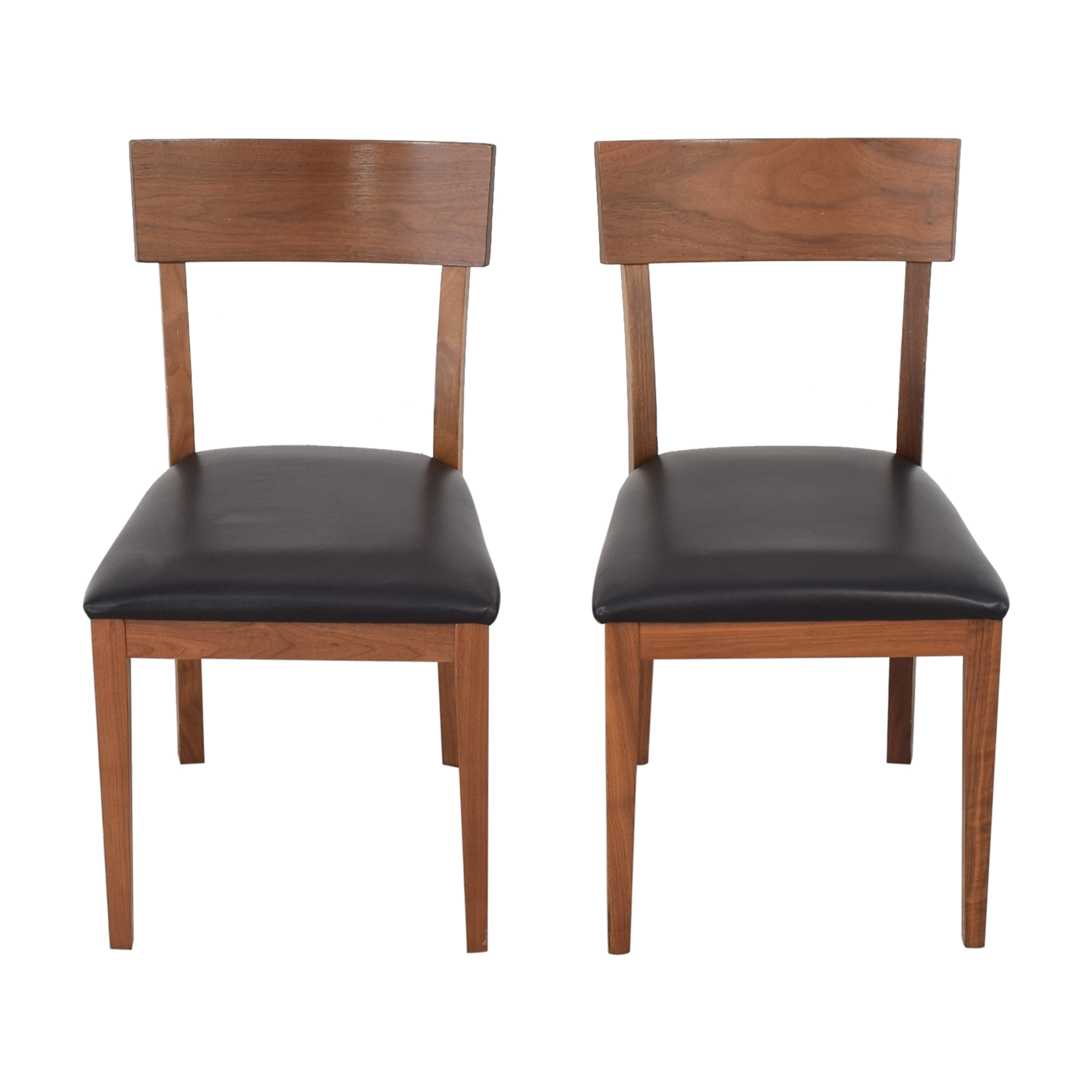 buy Room & Board Doyle Chairs with Fabric Seat Room & Board Chairs
