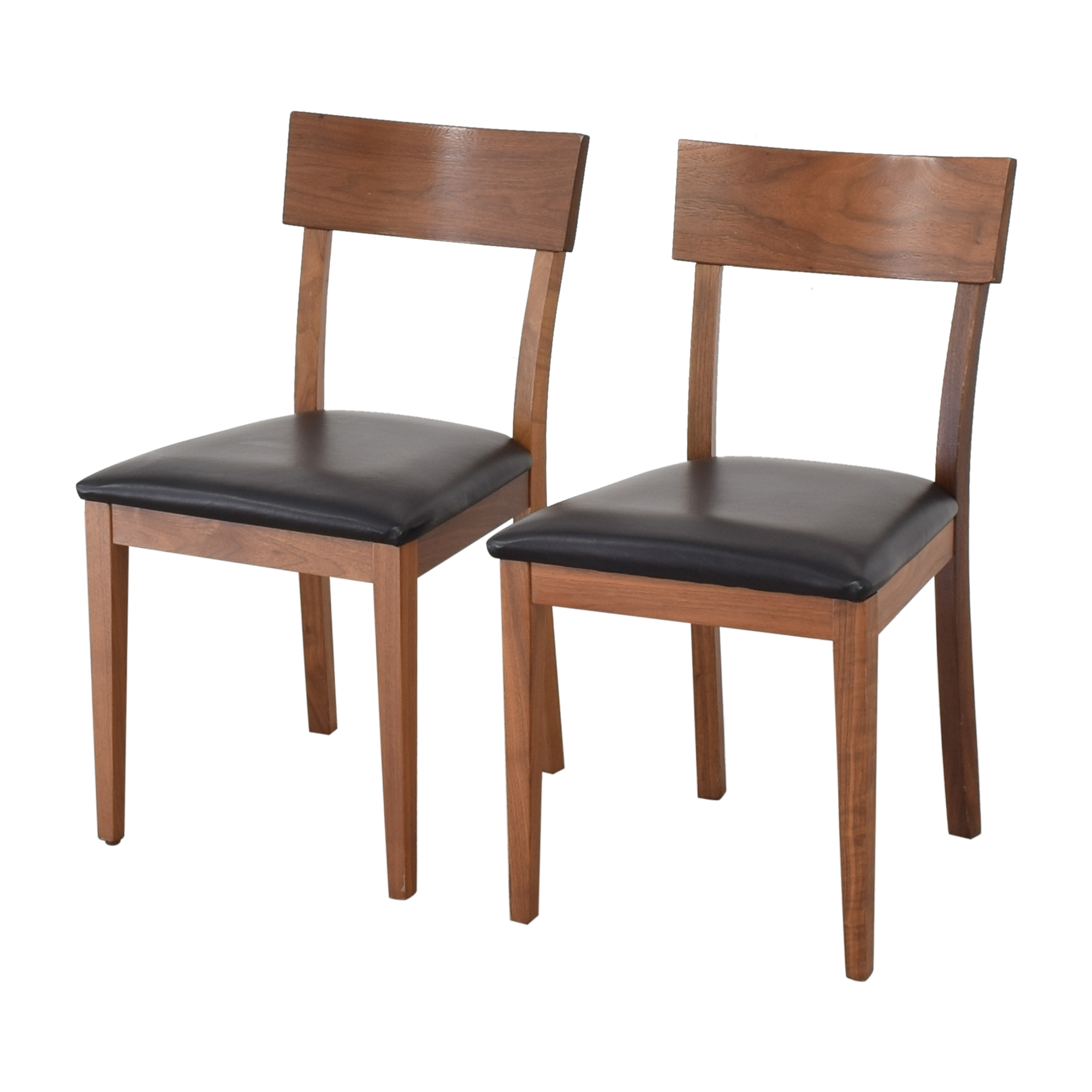 Room & Board Room & Board Doyle Chairs with Fabric Seat discount