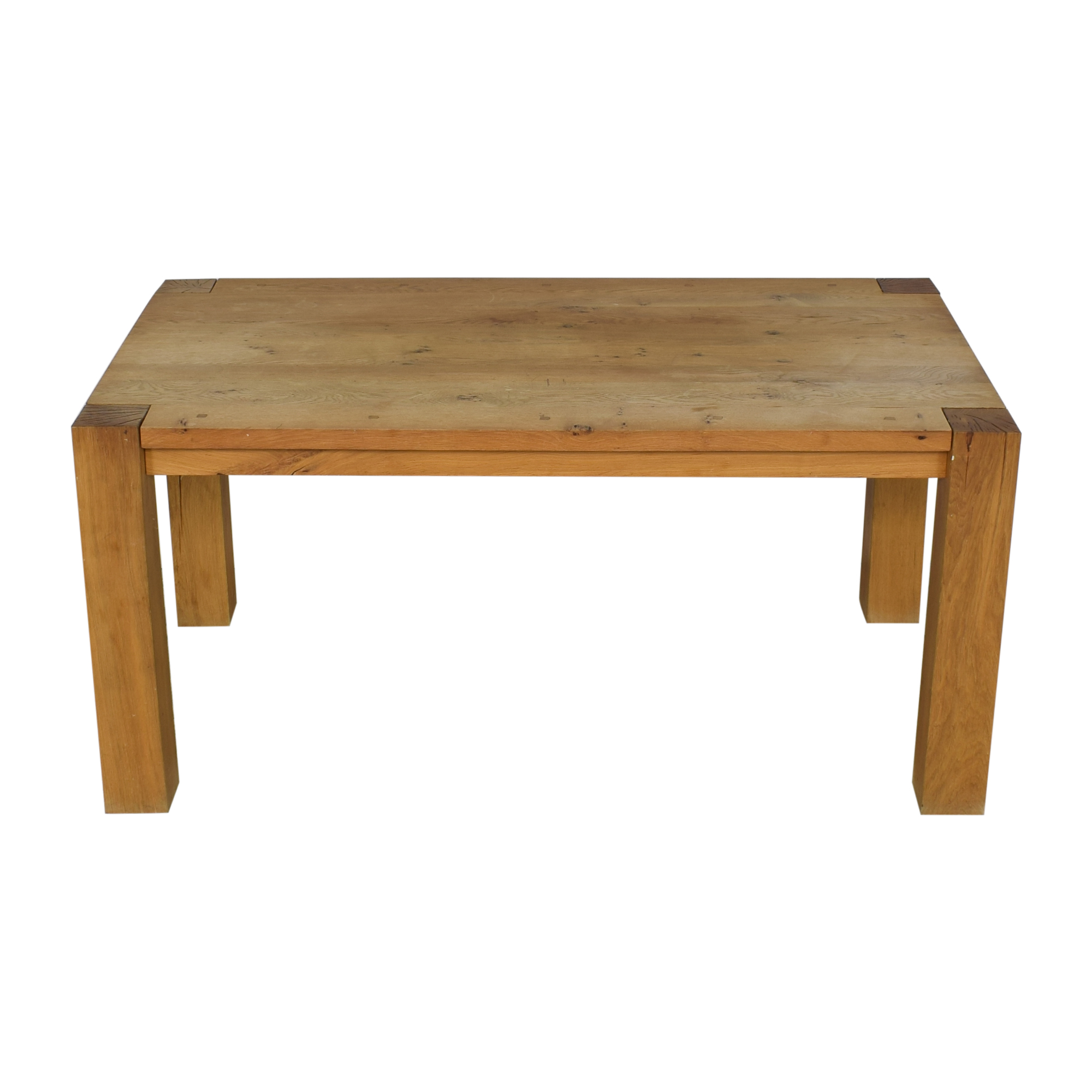 Crate & Barrel Crate & Barrel Big Sur Dining Table discount