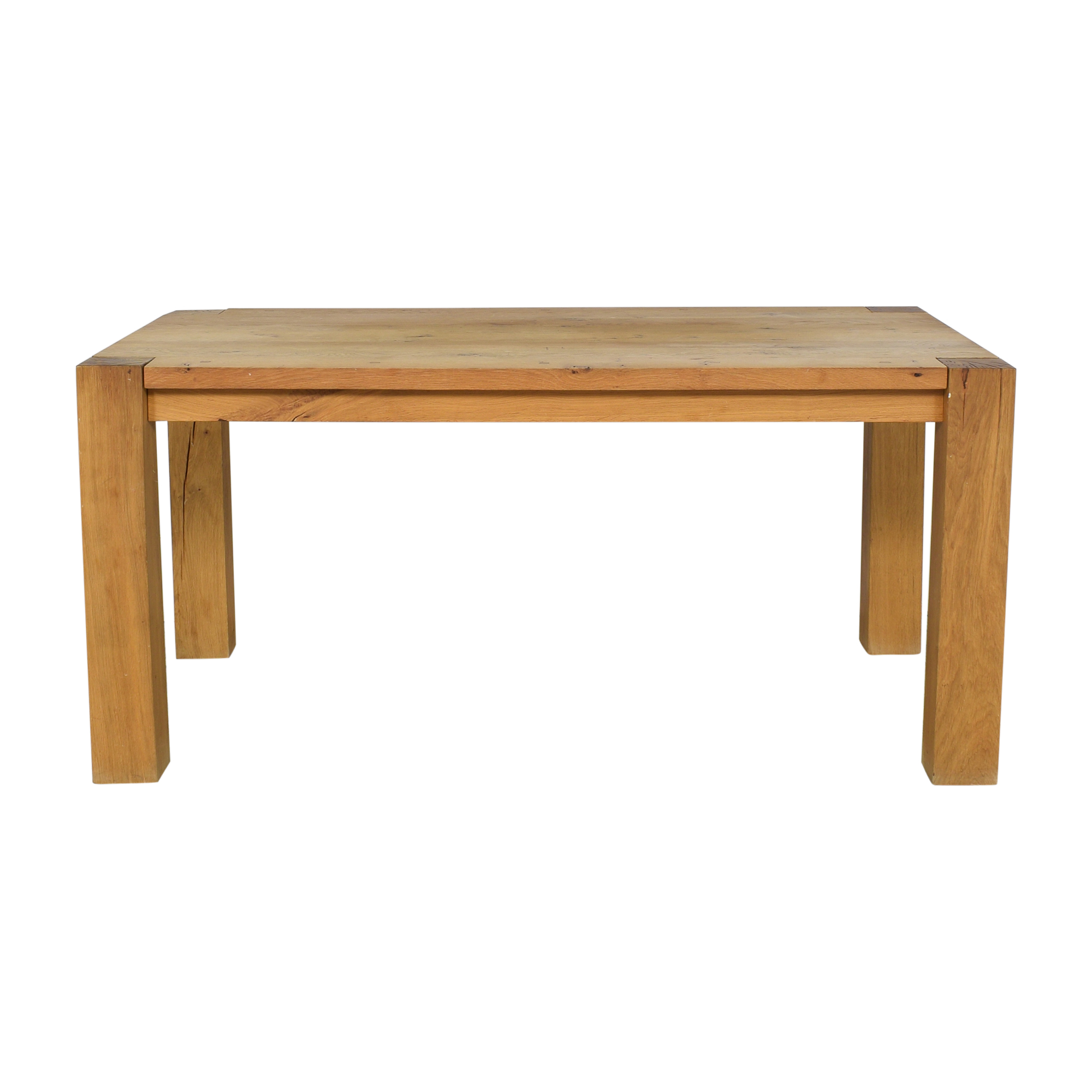 shop Crate & Barrel Big Sur Dining Table Crate & Barrel Tables