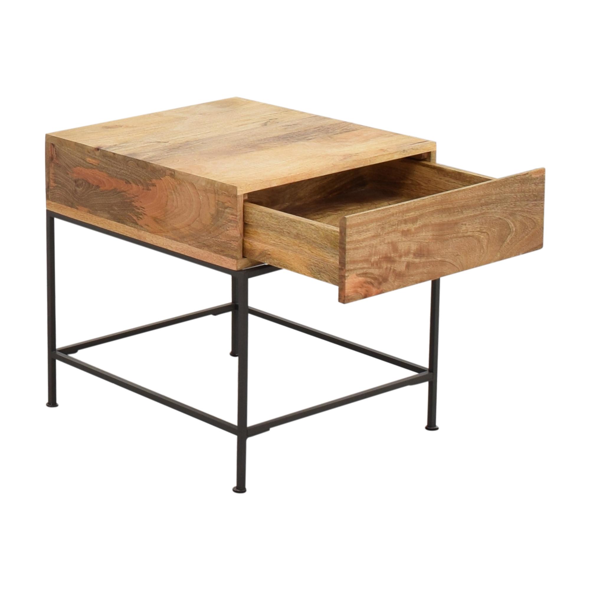 buy West Elm West Elm Industrial Storage Side Table online