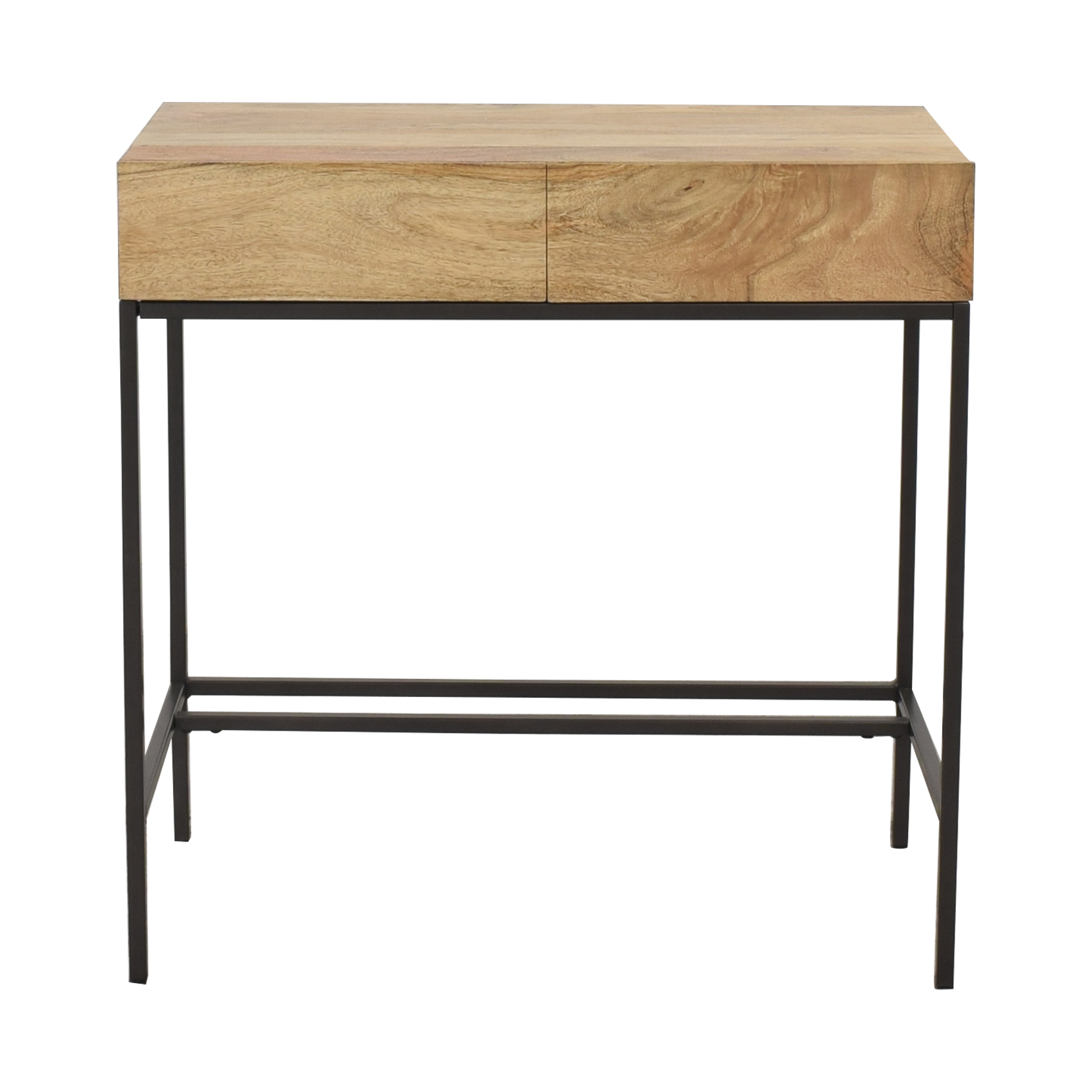 West Elm West Elm Industrial Storage Mini Desk nyc