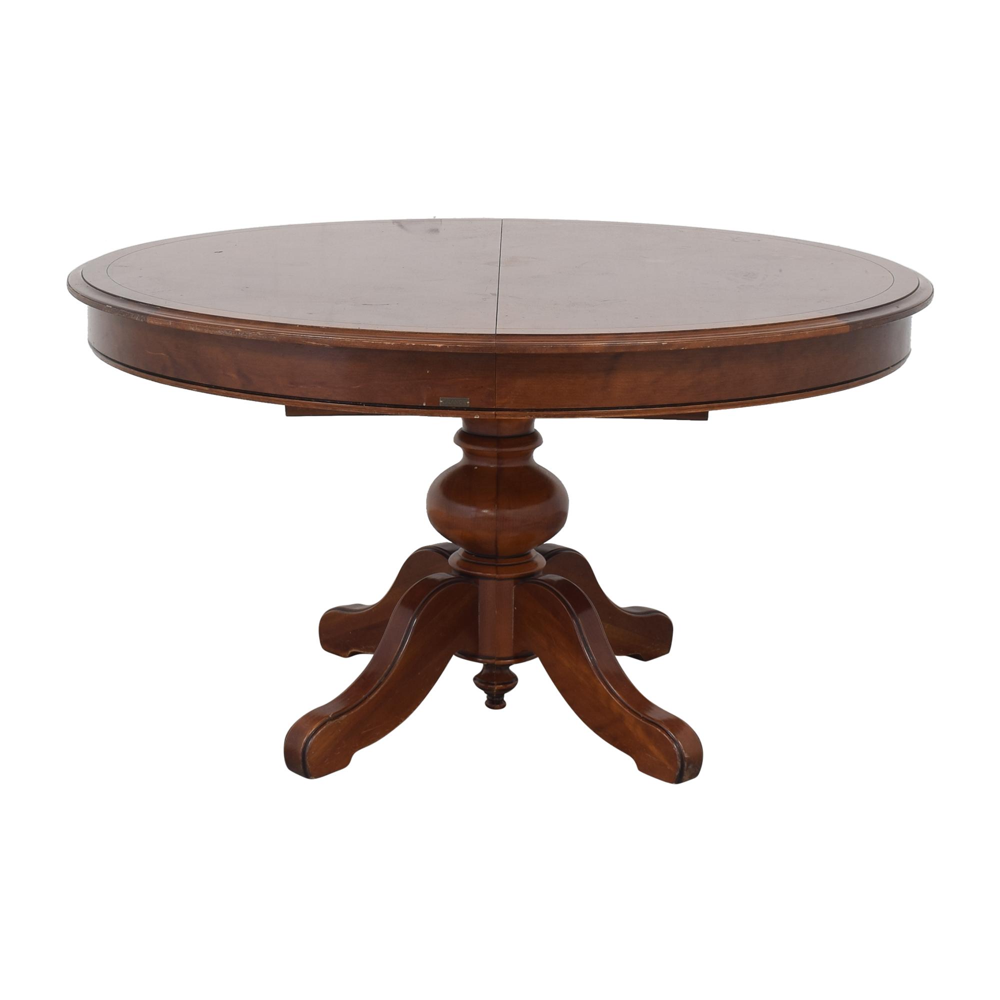 Grange Grange France Cherry Wood Extending Dining Table brown