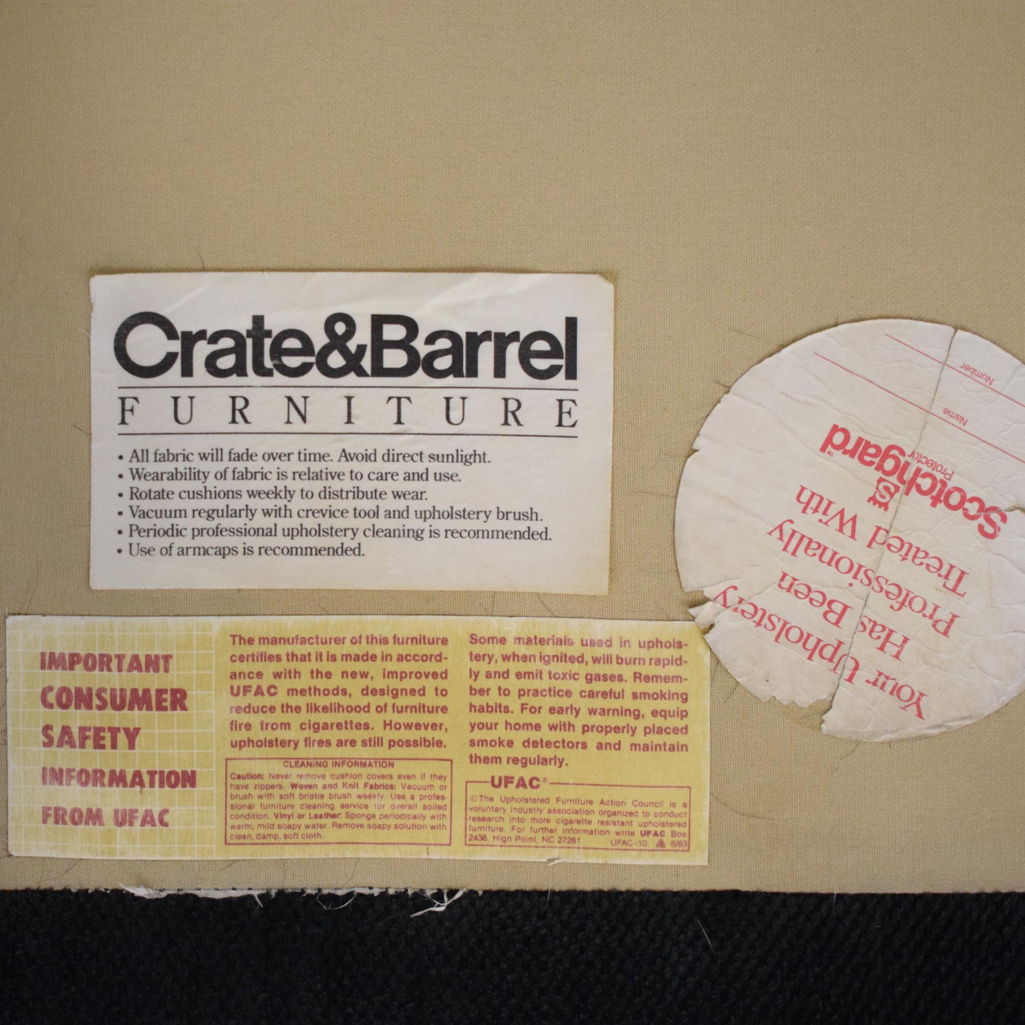 Crate & Barrel Crate & Barrel Sofa for sale