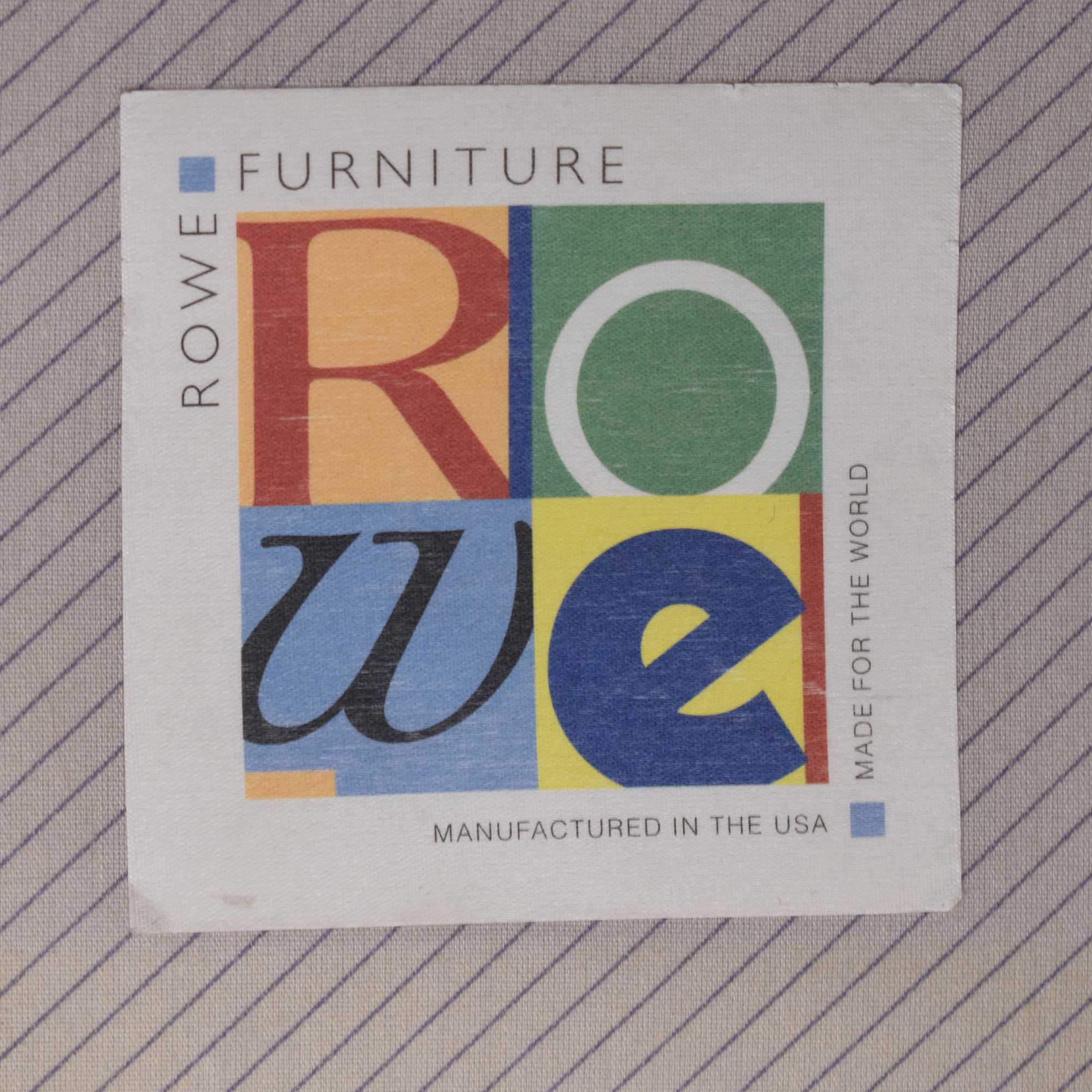 Rowe Furniture Rowe Furniture Sectional Sofa with Chaise nj
