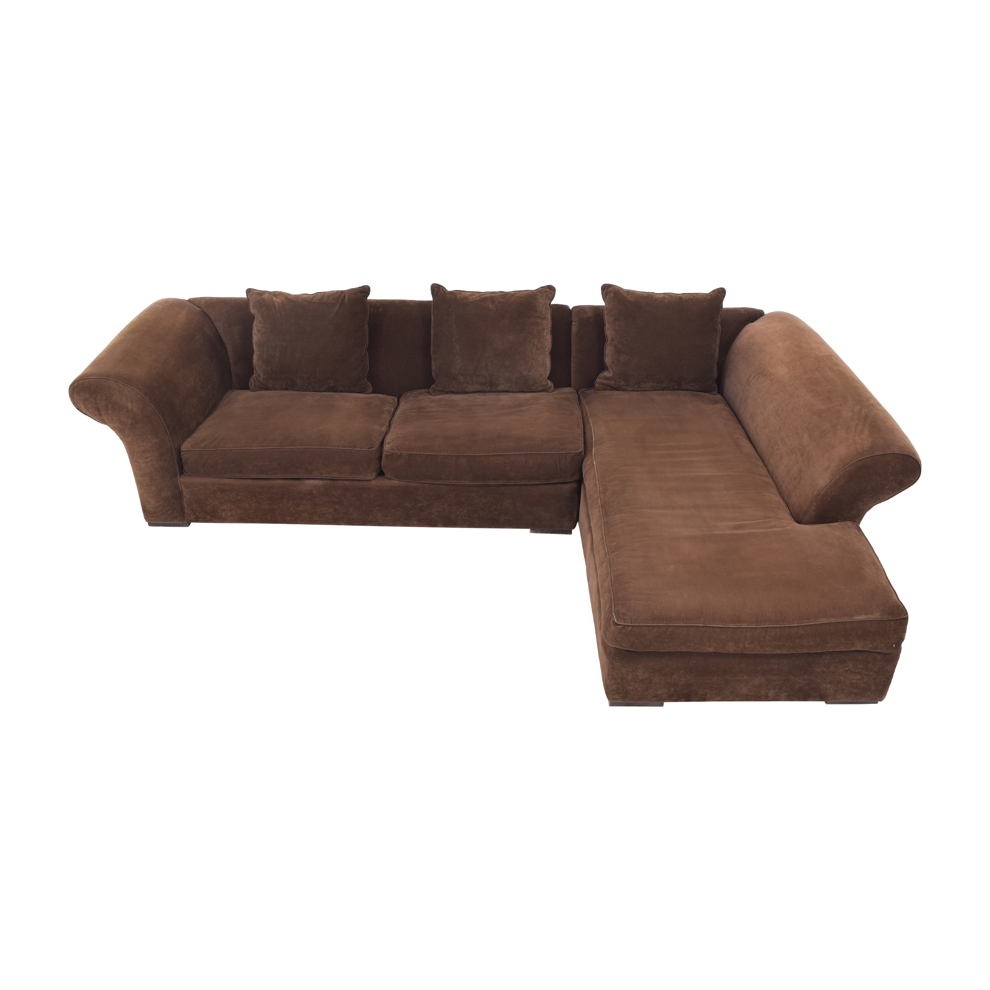 Rowe Furniture Rowe Furniture Sectional Sofa with Chaise nyc