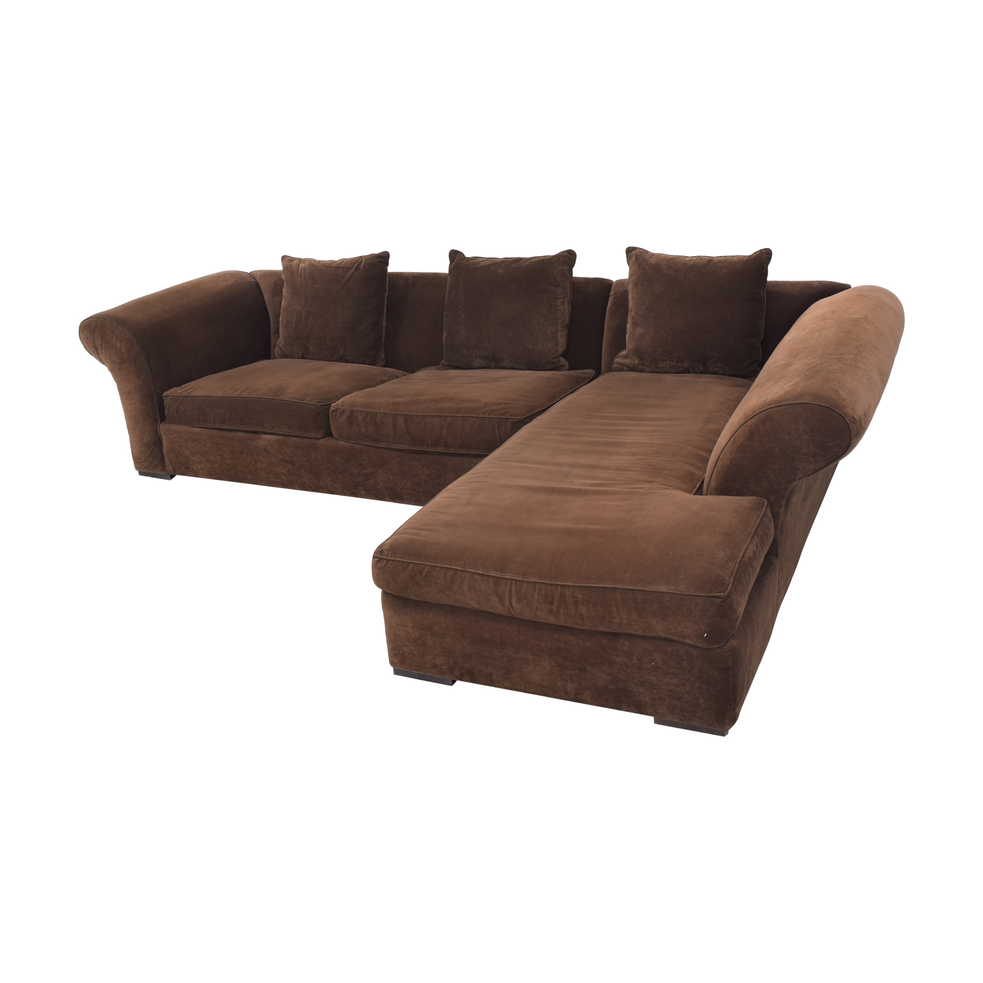 Rowe Furniture Rowe Furniture Sectional Sofa with Chaise for sale