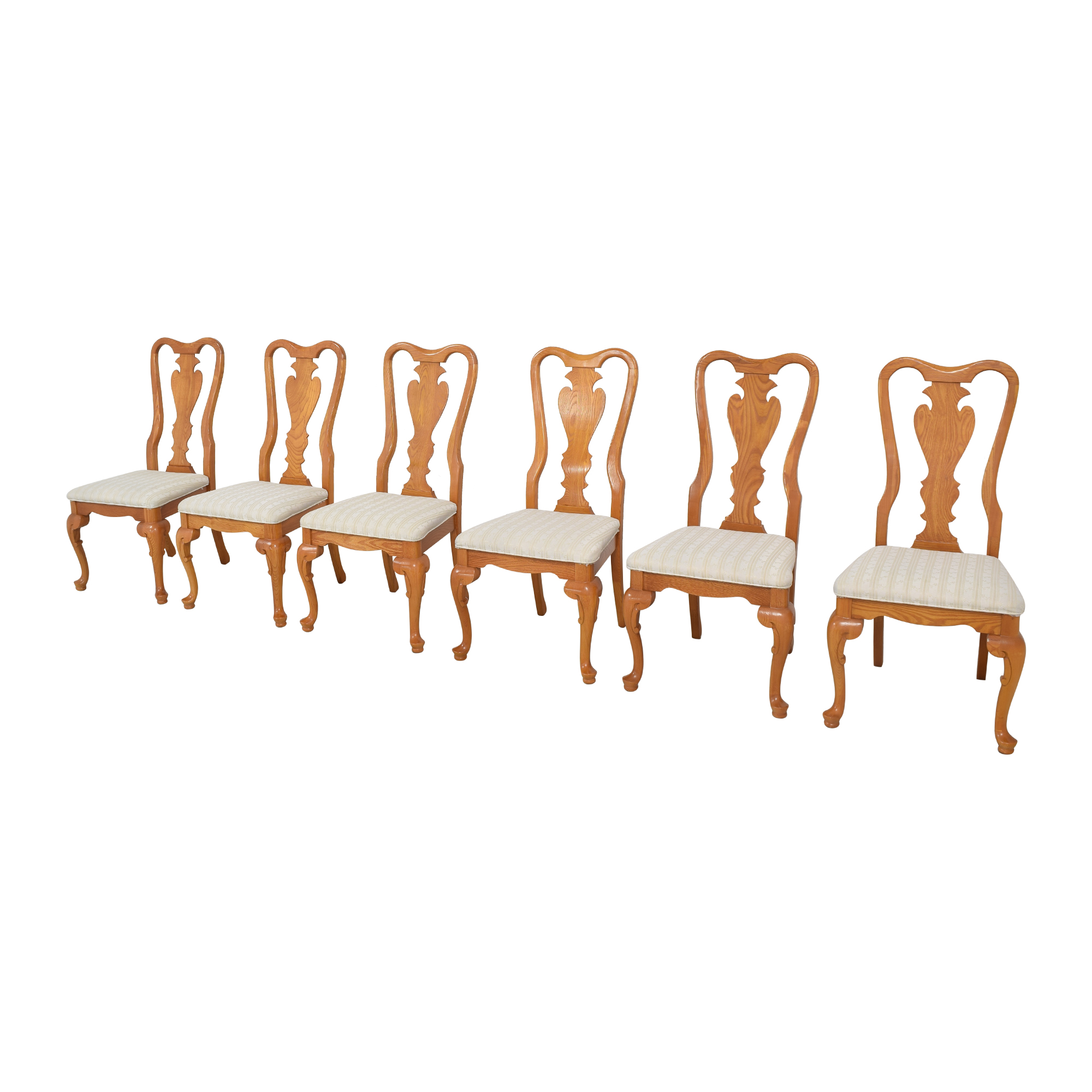 Sumter Cabinet Co. Sumter Cabinet Company Dining Chairs brown and beige