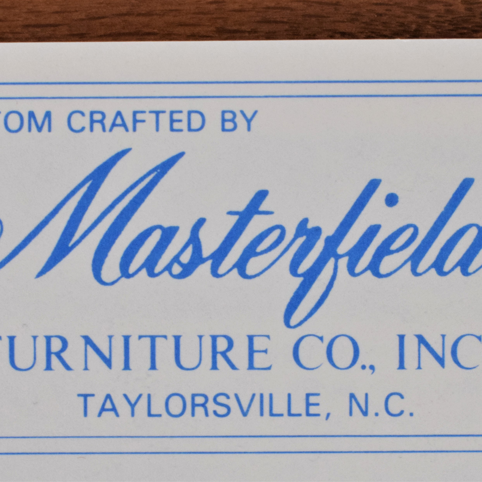 Masterfield Furniture Masterfield Furniture Company Tall Chest of Drawers discount