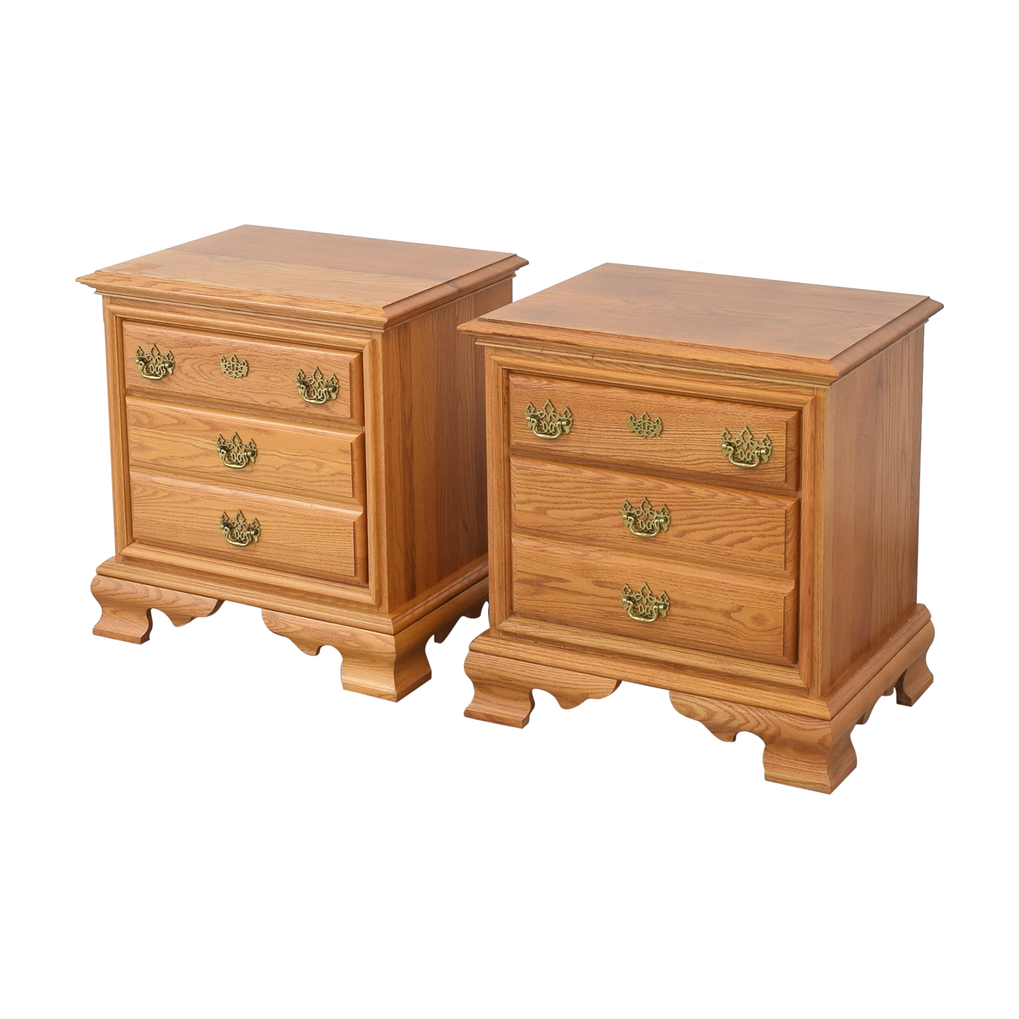 Masterfield Furniture Masterfield Furniture Two Drawer End Tables End Tables