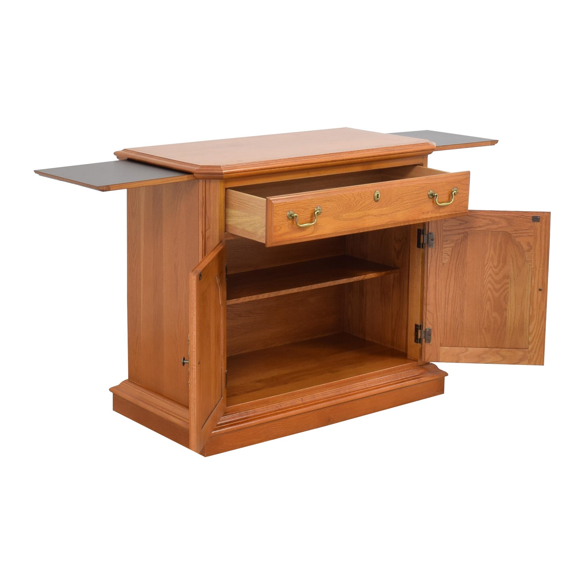 Sumter Cabinet Company Bar Cart Buffet Sideboard / Storage