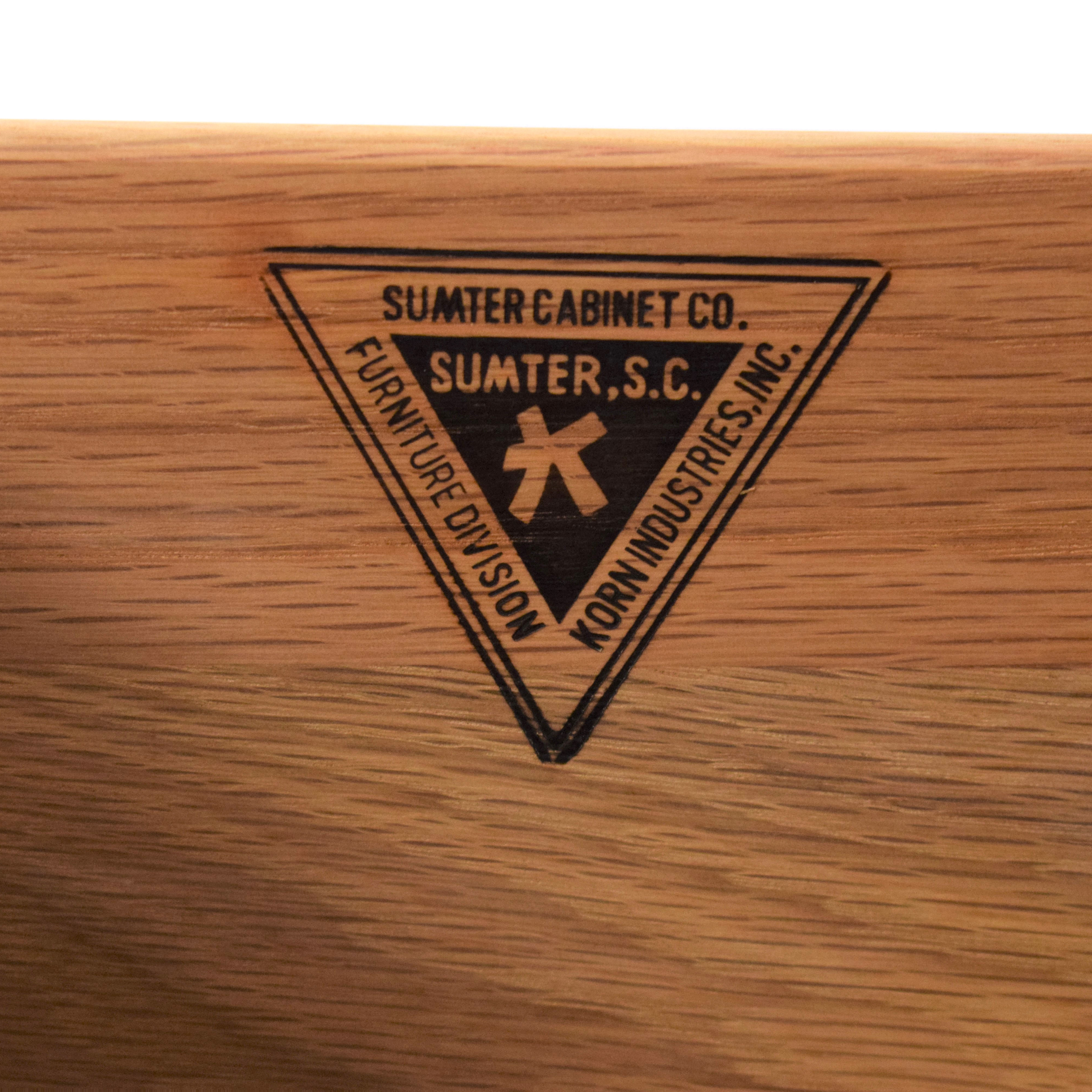 Sumter Cabinet Co. Sumter Cabinet Company Bar Cart Buffet Sideboard brown