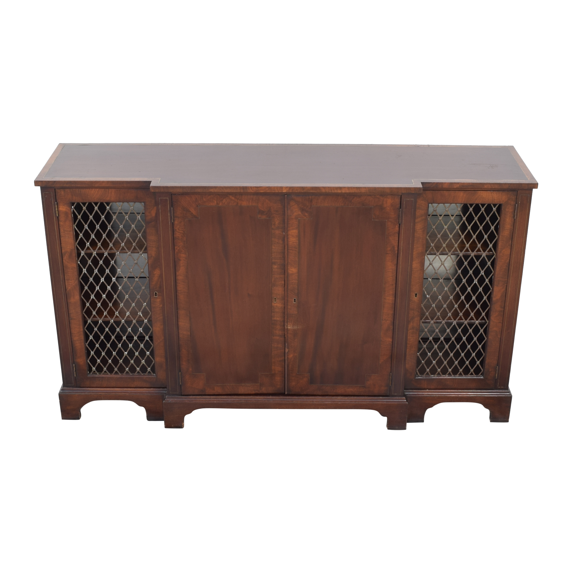 Vintage Sideboard with Lock and Key dimensions