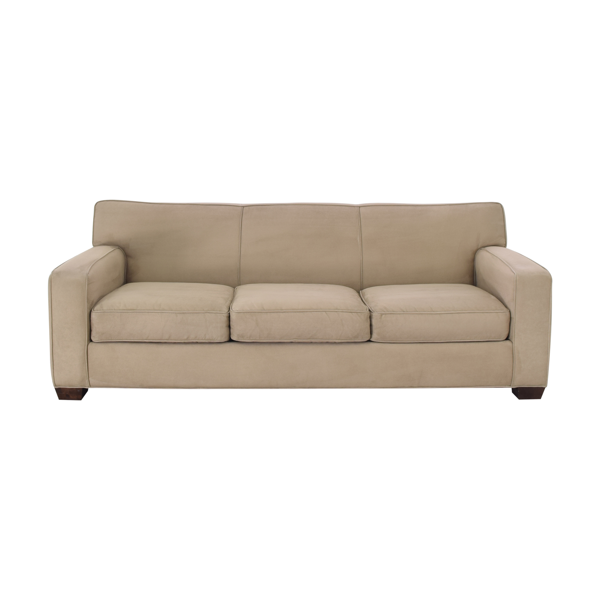 Crate & Barrel Crate & Barrel Three Cushion Sofa ma