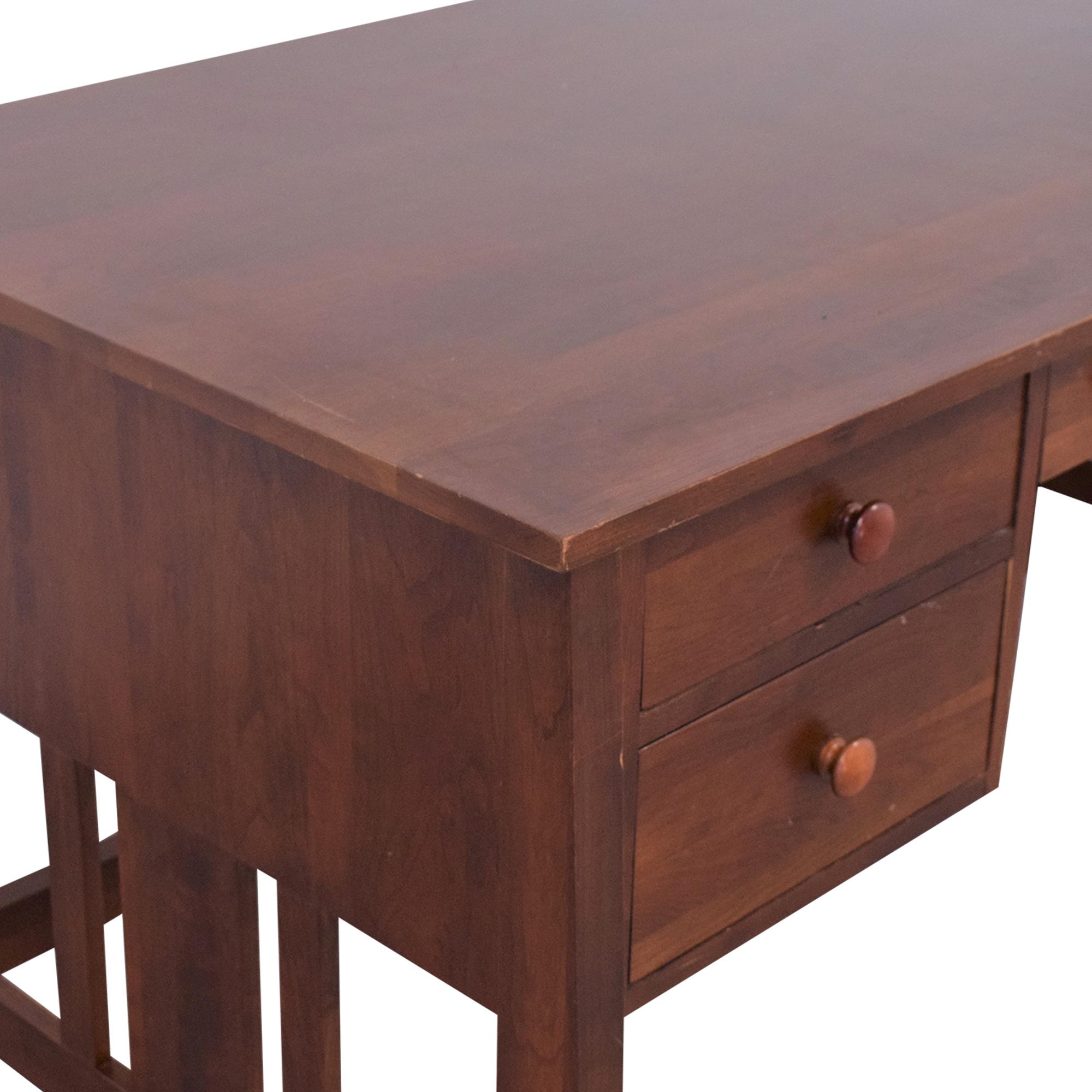 buy Ethan Allen Wood Mission Desk Ethan Allen Tables