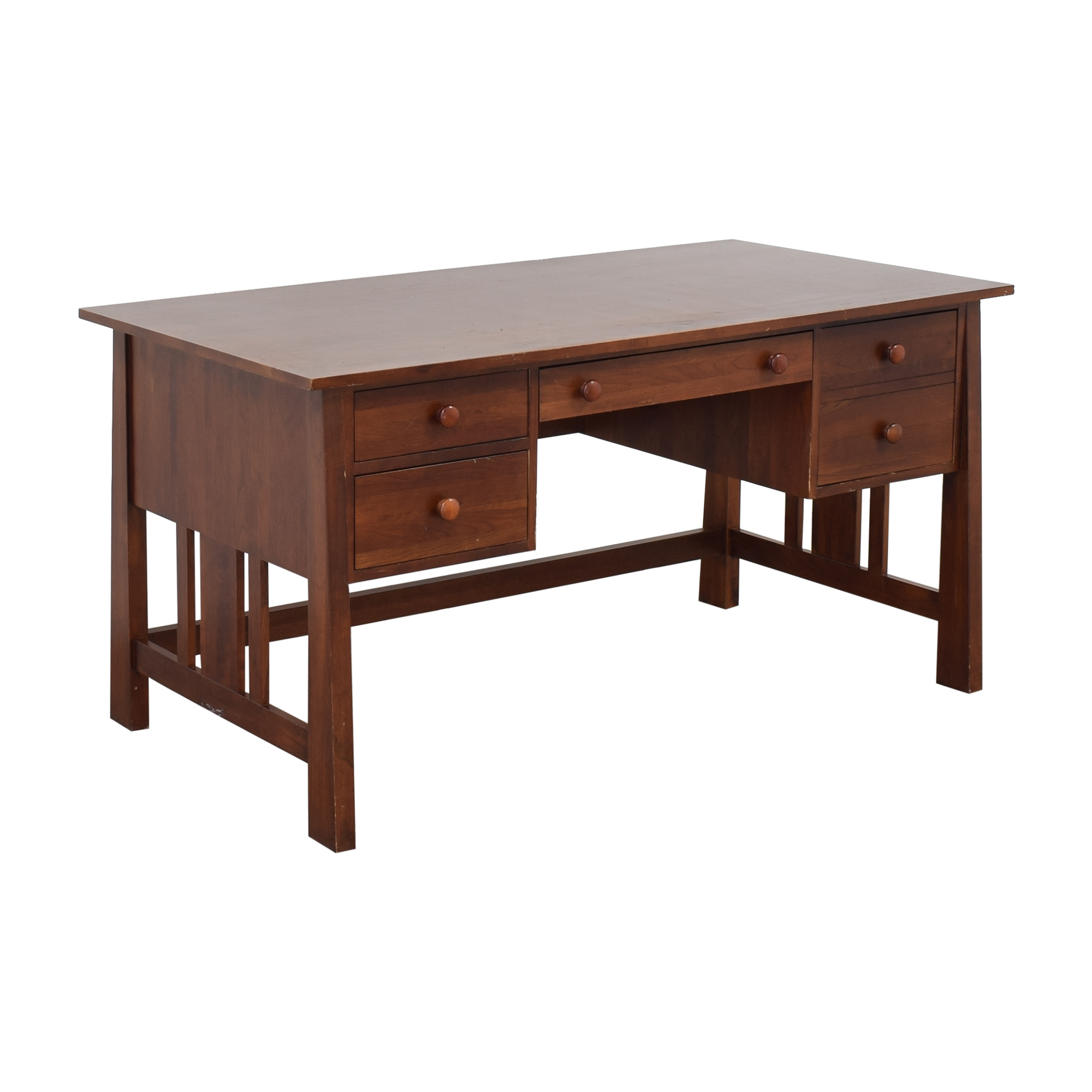 buy Ethan Allen Wood Mission Desk Ethan Allen Home Office Desks