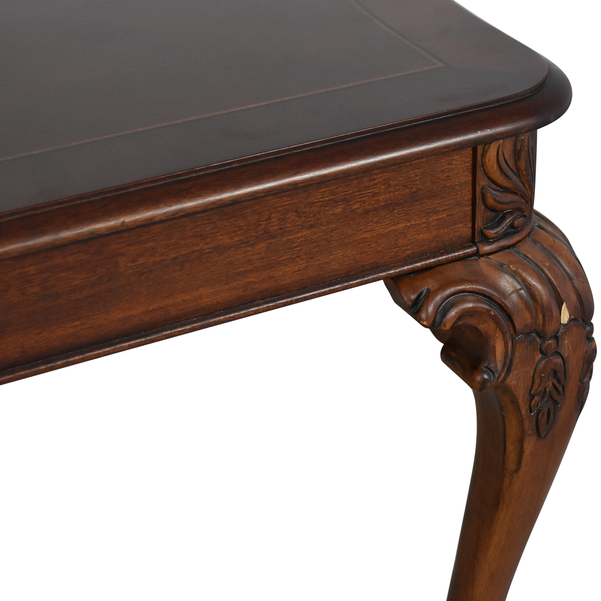 Chippendale Style Dining Table ma