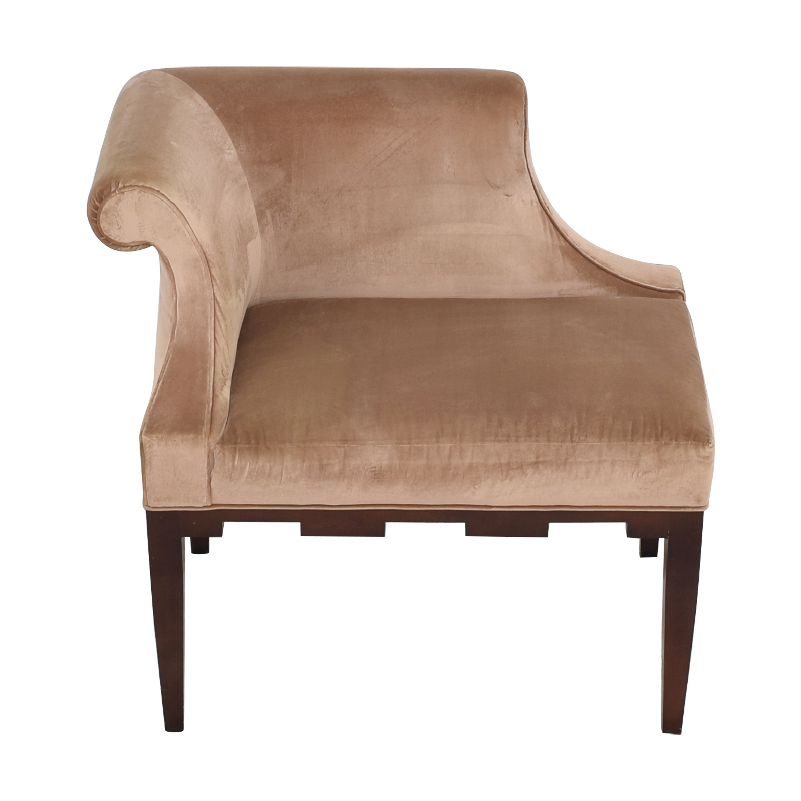 Baker Furniture Baker Castle Corner Chair Accent Chairs