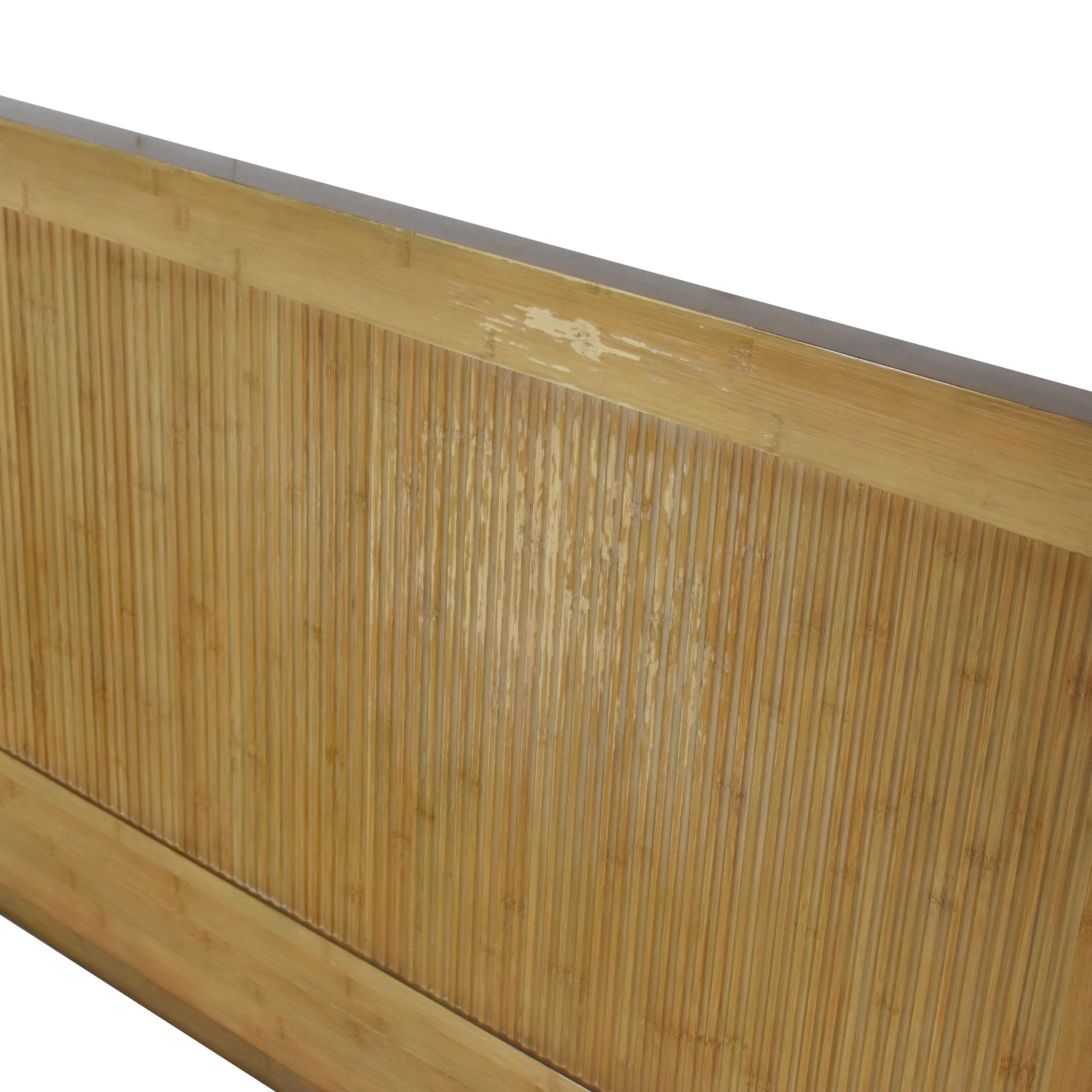 Room & Board Room & Board Queen Bamboo Timbre Maria Yee Platform Bed ma