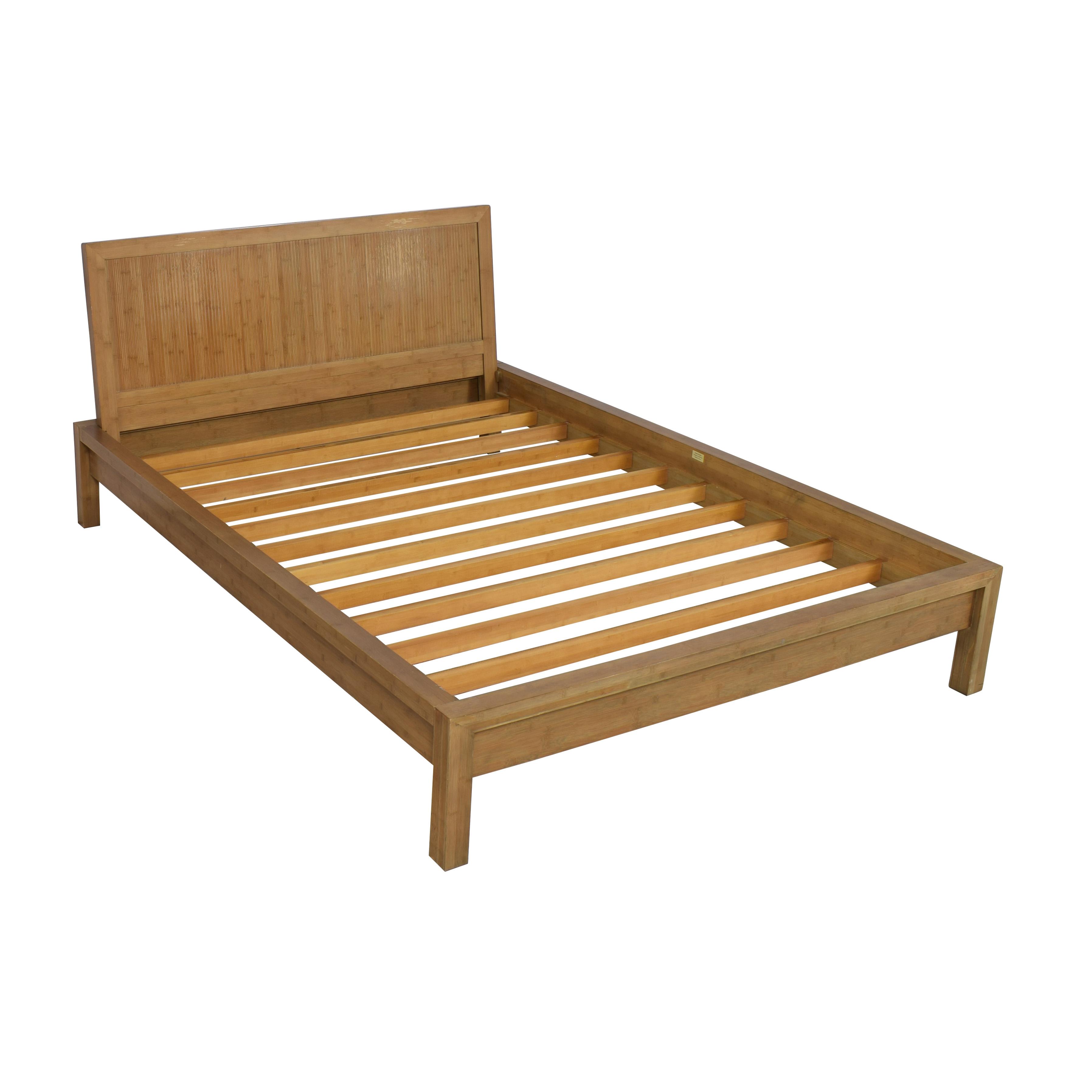 Room & Board Room & Board Queen Bamboo Timbre Maria Yee Platform Bed nyc