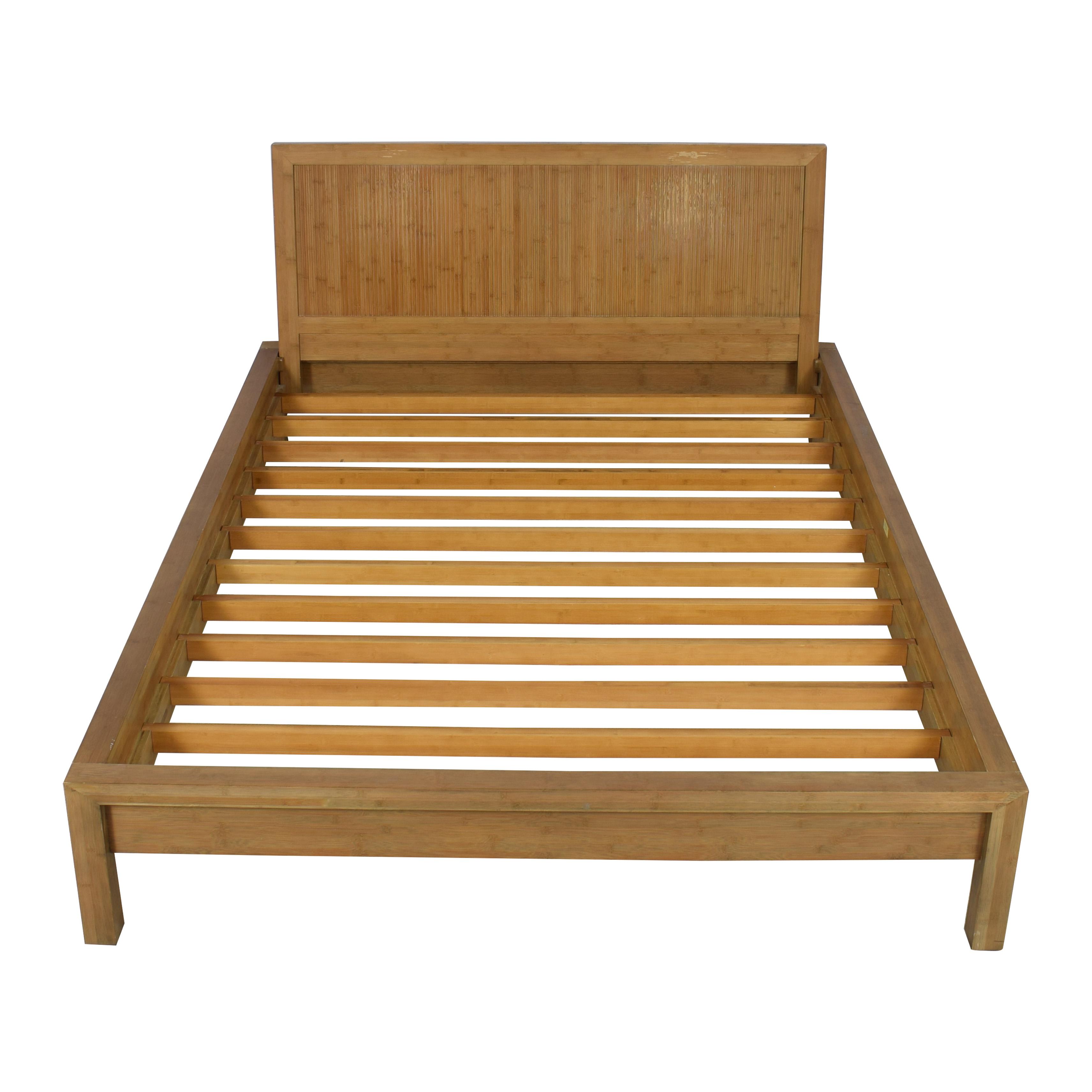 buy Room & Board Room & Board Queen Bamboo Timbre Maria Yee Platform Bed online