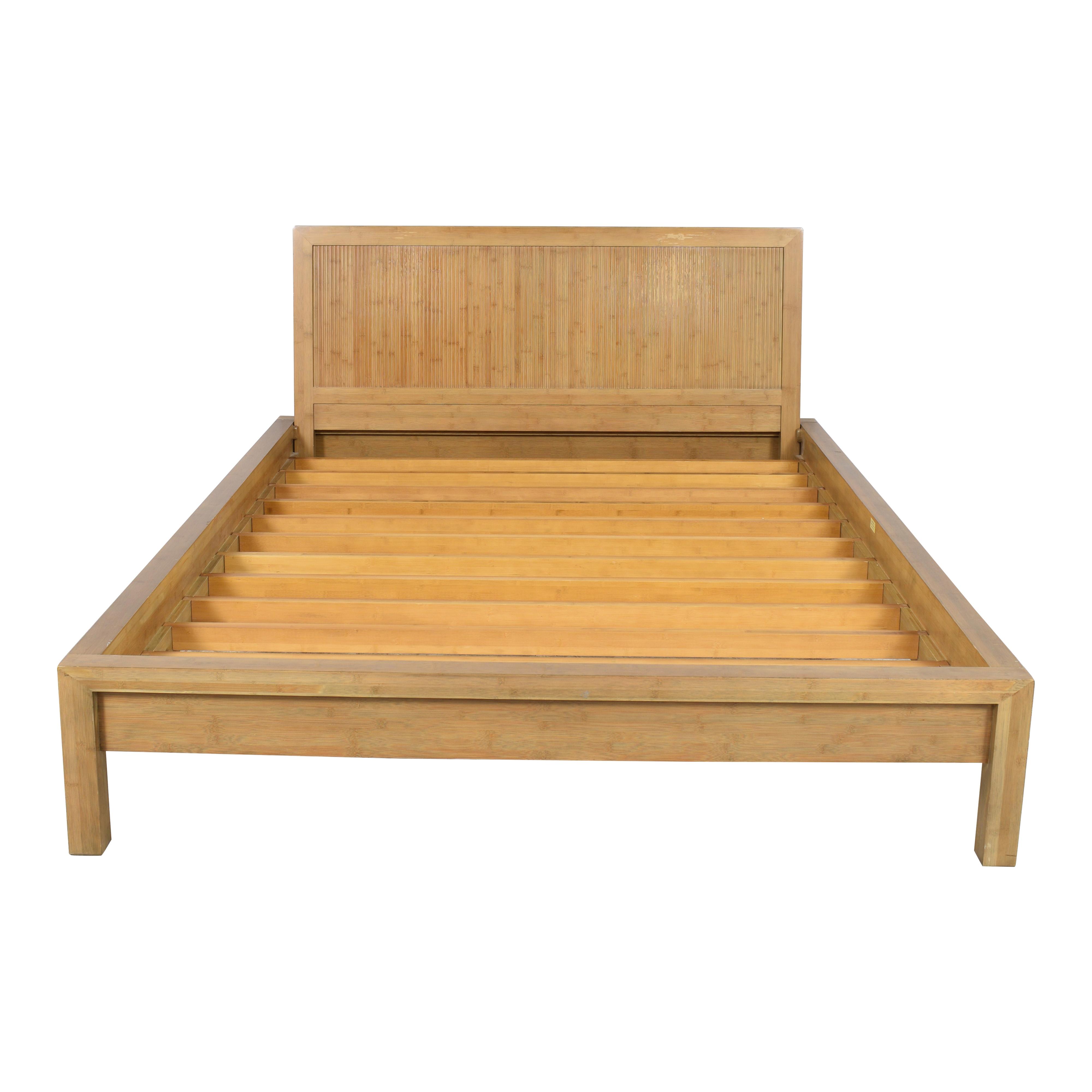 Room & Board Room & Board Queen Bamboo Timbre Maria Yee Platform Bed Bed Frames