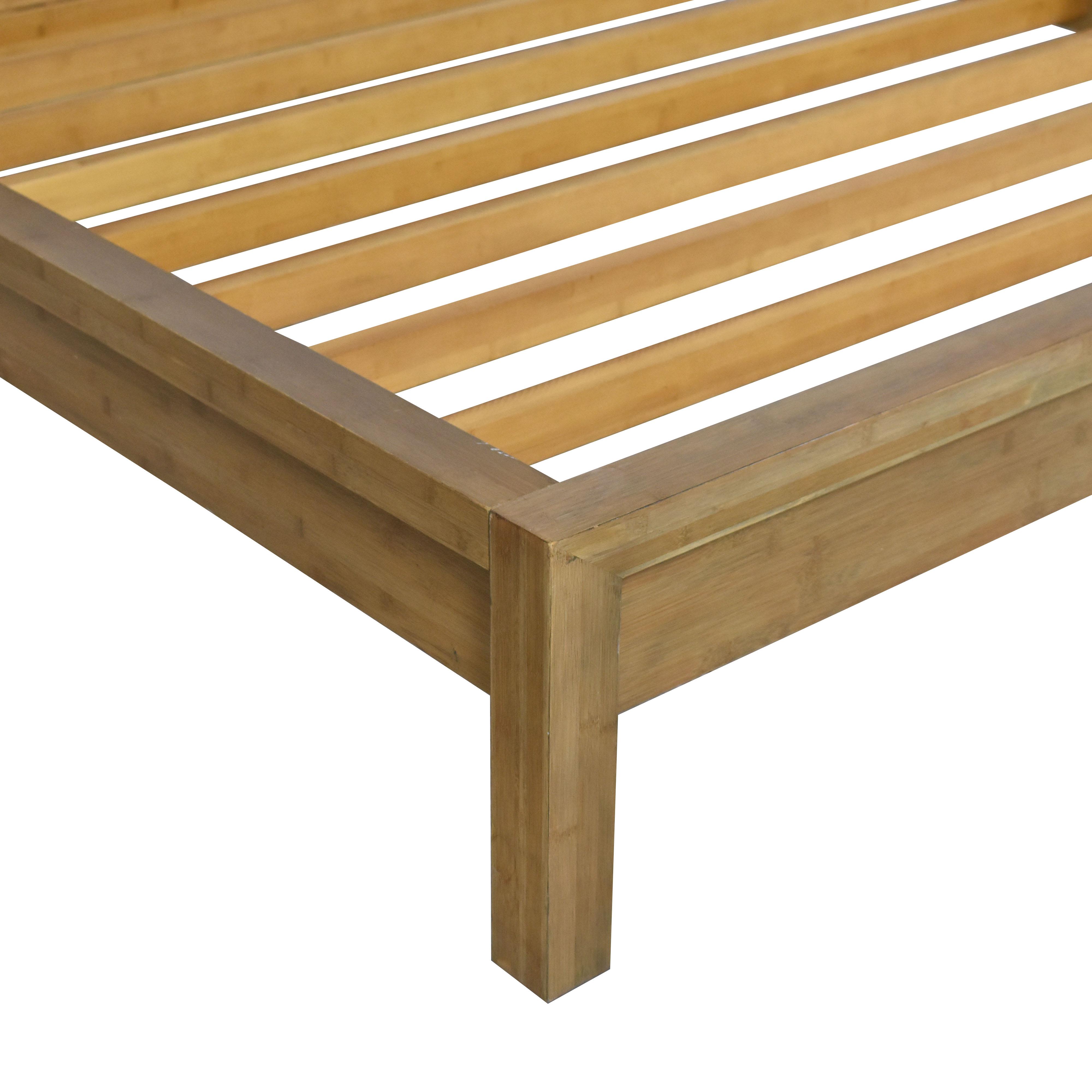 shop Room & Board Queen Bamboo Timbre Maria Yee Platform Bed Room & Board