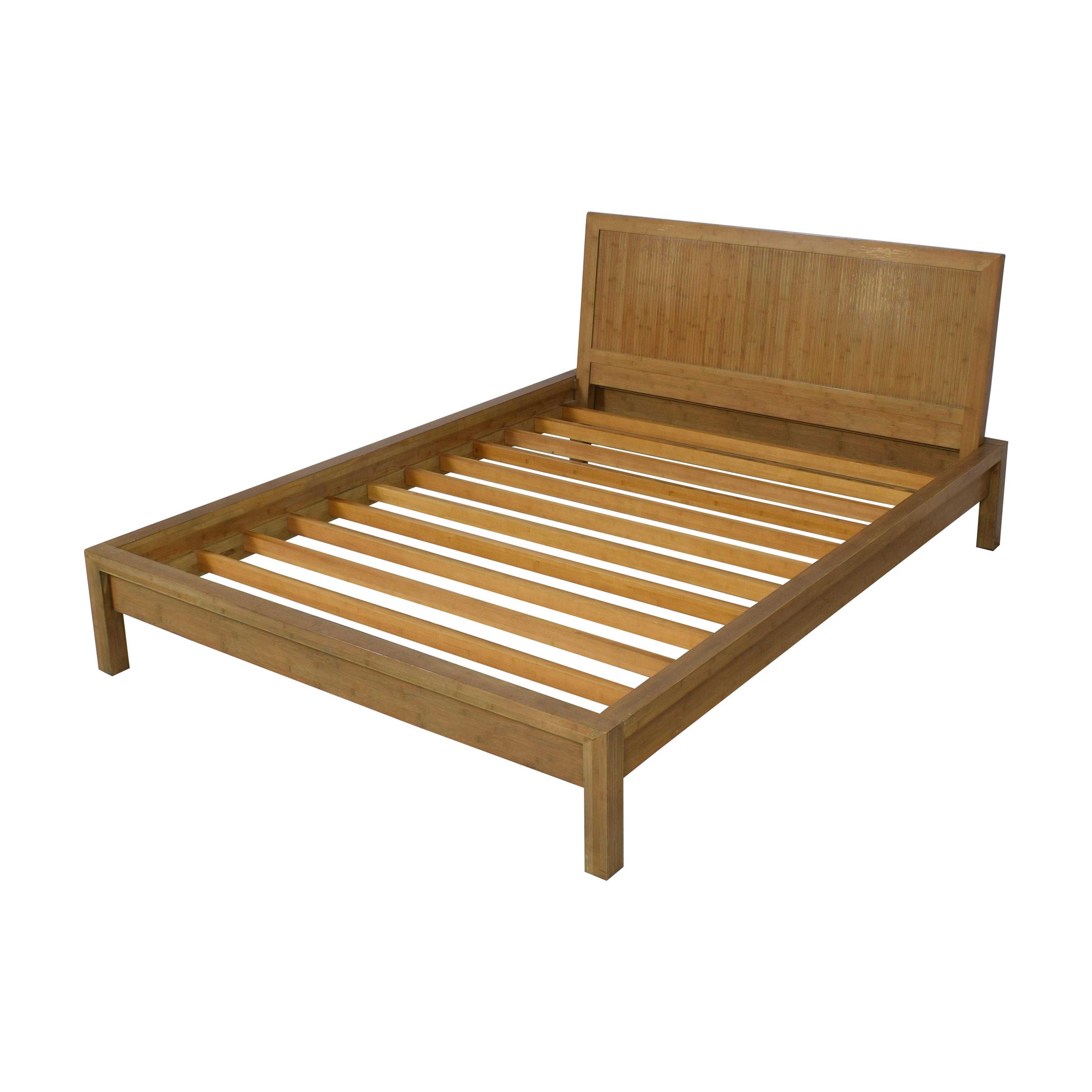 buy Room & Board Queen Bamboo Timbre Maria Yee Platform Bed Room & Board Beds